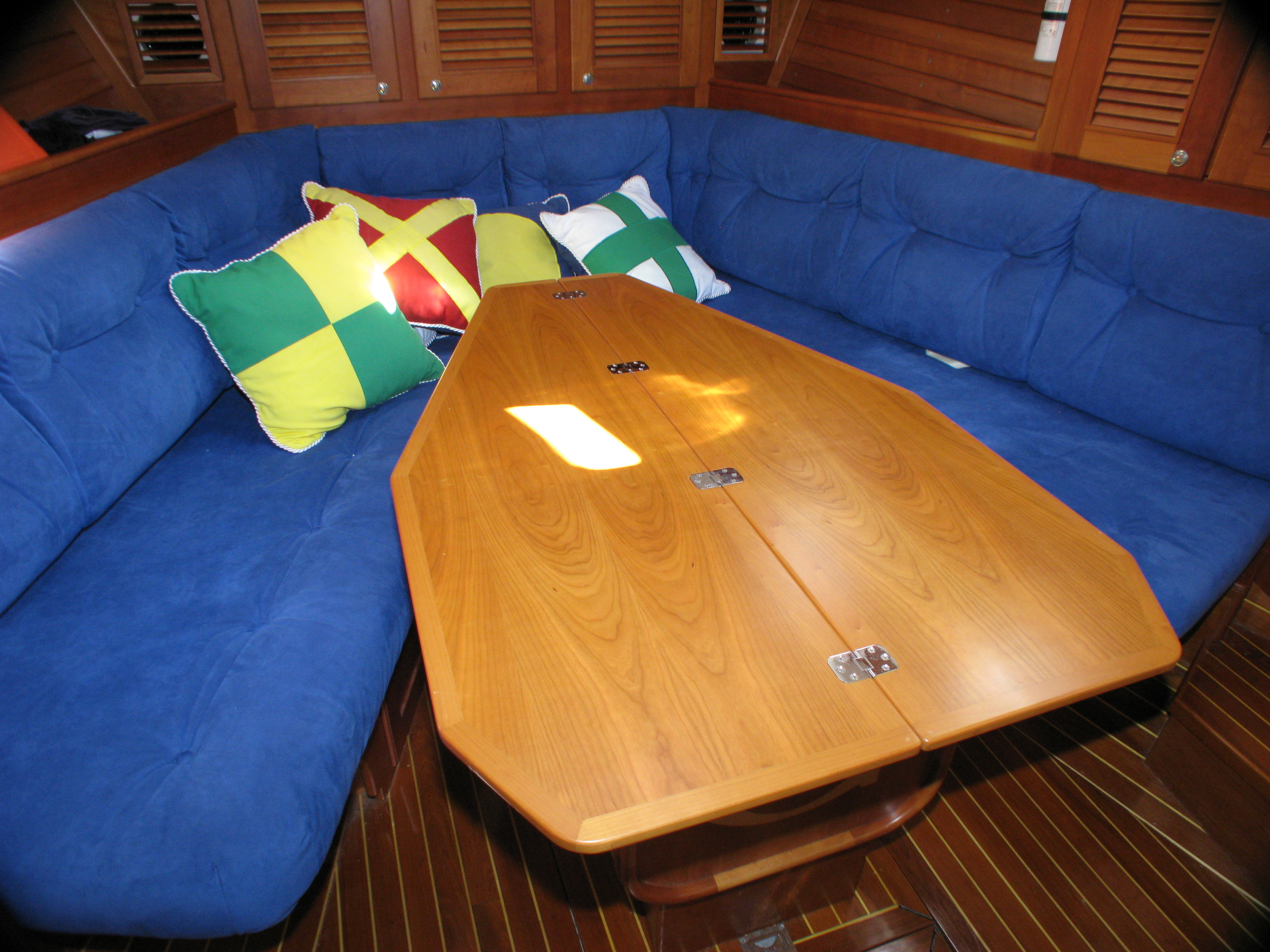 Forward Cabin - configured for dining