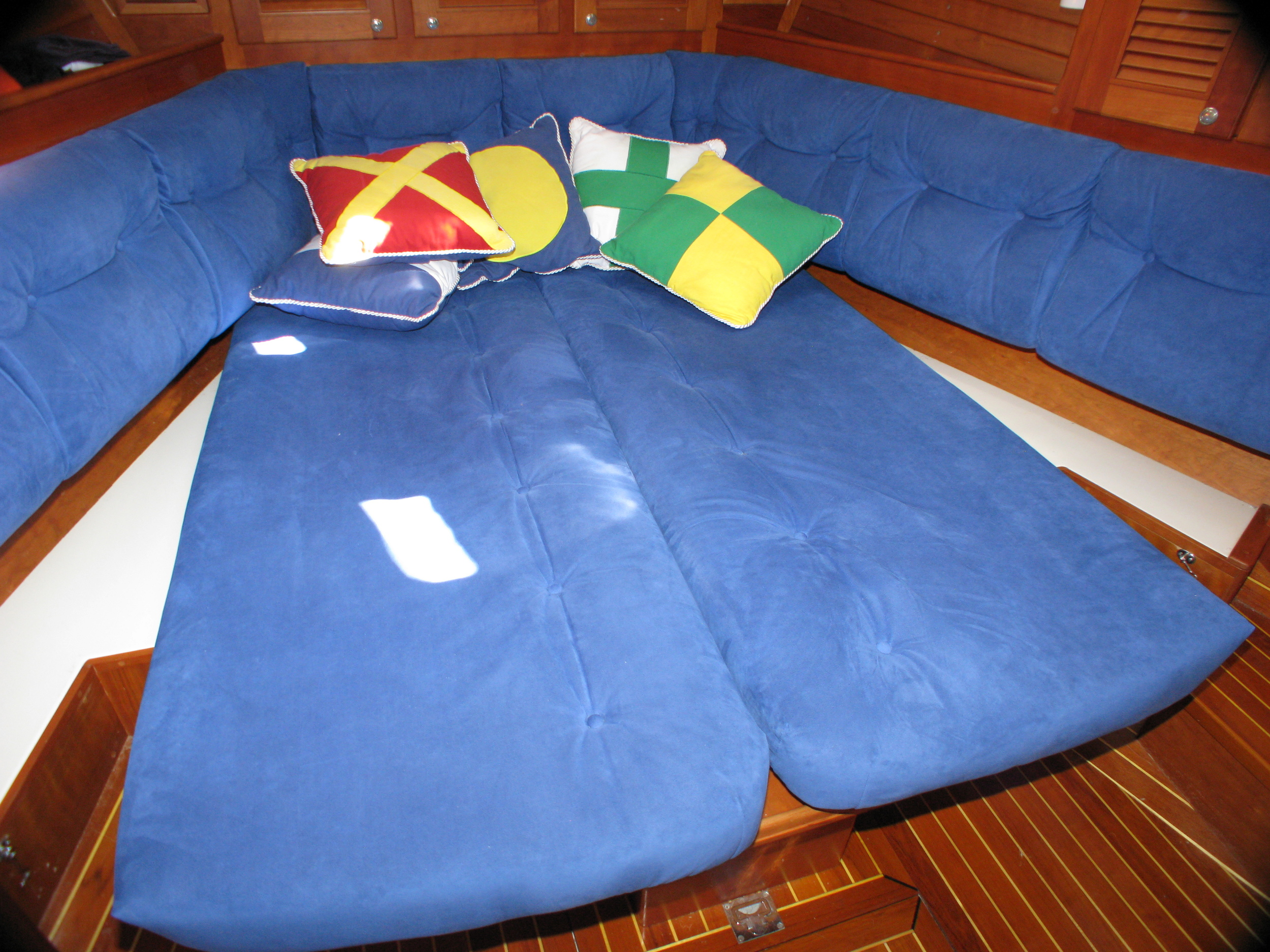 Forward Cabin - configured for sleeping 2 singles or one queen