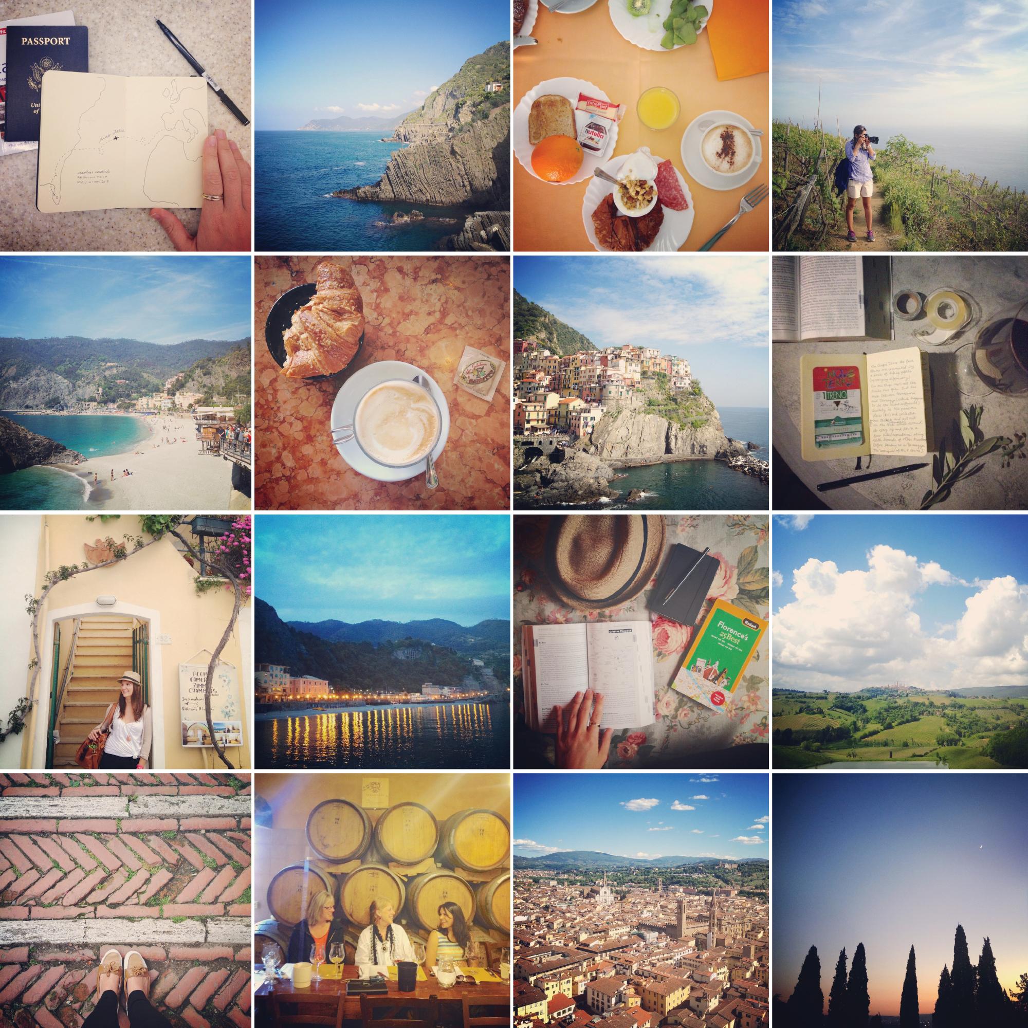 Just a little peek into my Italian Adventures via my favorite Instagram images.