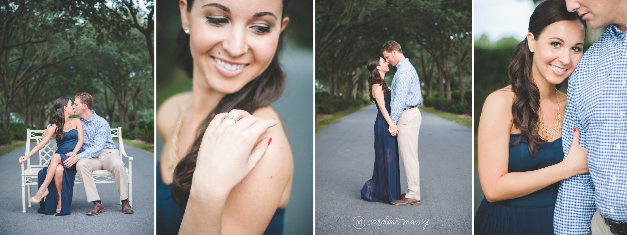 Lake Wales, FL Engagement Photography with Caroline Maxcy Photography