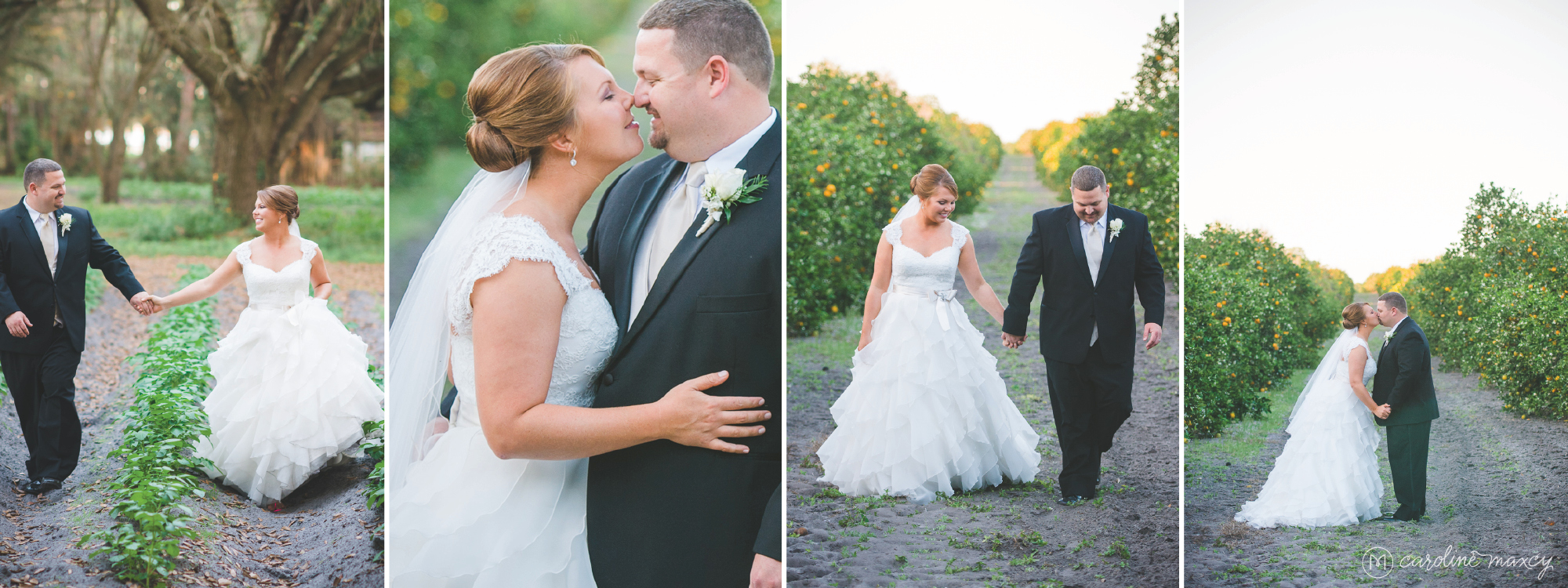 Emma & Eric's Lake Placid, Florida wedding with Caroline Maxcy Photography.