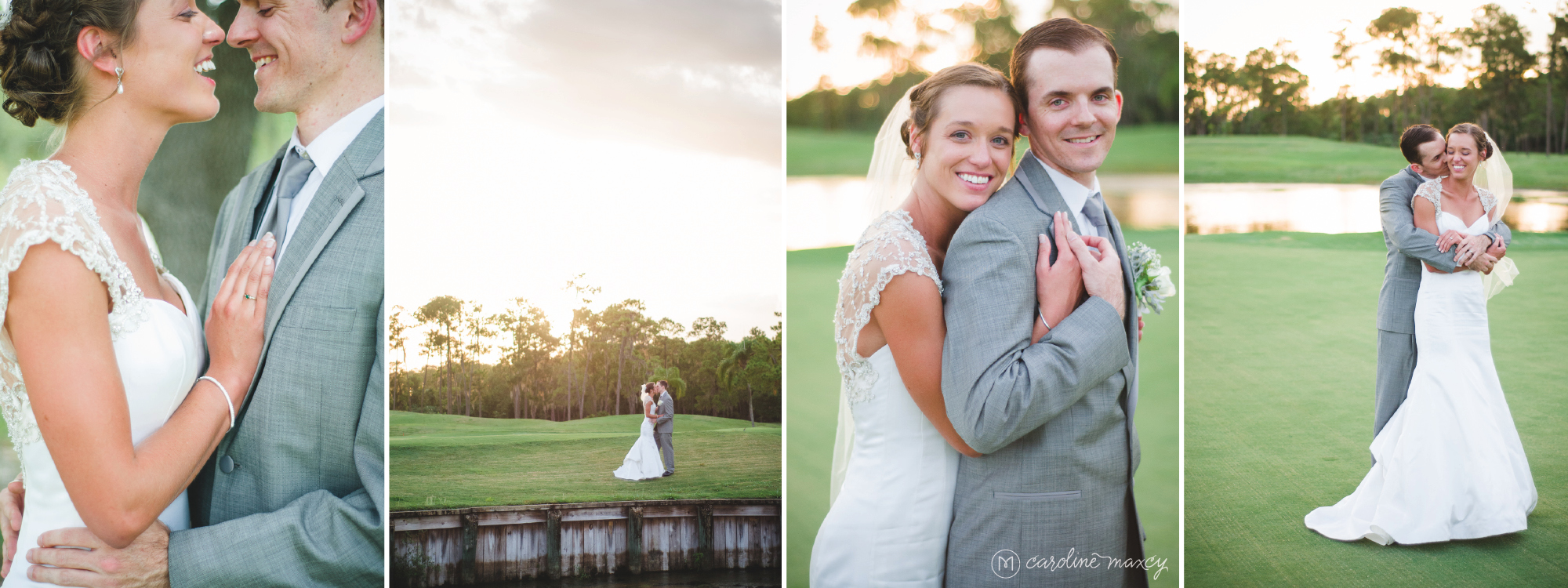 Alecia and Craig's Sebring, FL Wedding with Caroline Maxcy Photography.