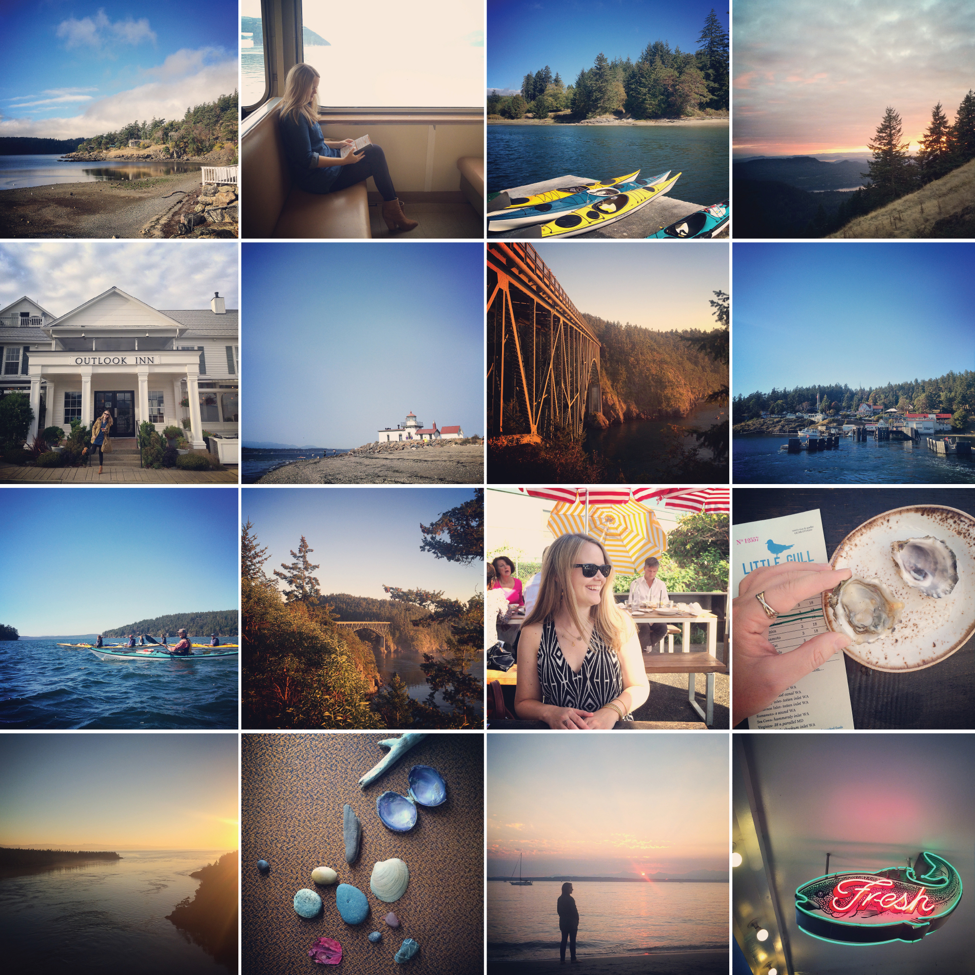 Caroline Maxcy's Seattle and San Juan Islands, WA Instagram photo favorites.
