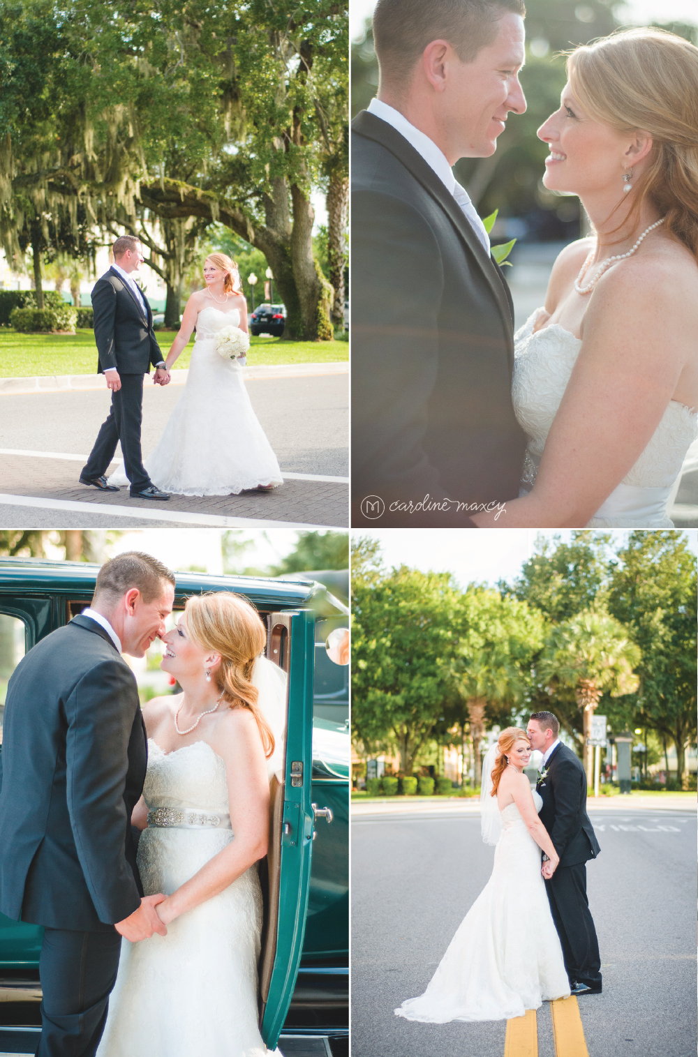 Historic Downtown Sebring Circle Theater Wedding Photography with Caroline Maxcy Photography