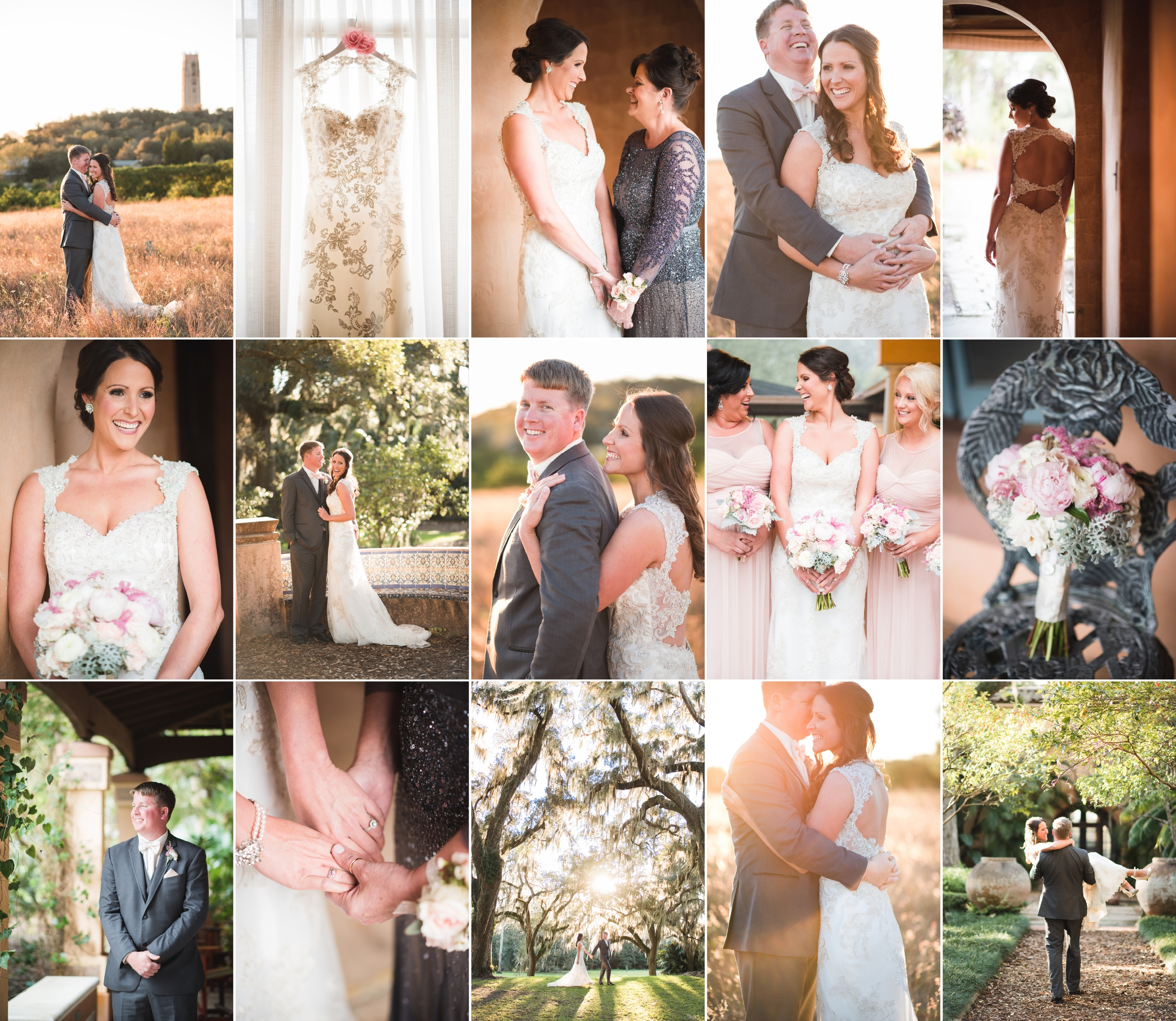 Kandi + Jeff — Lake Wales, FL — Bok Tower Gardens Wedding Photography with Caroline Maxcy Photography.