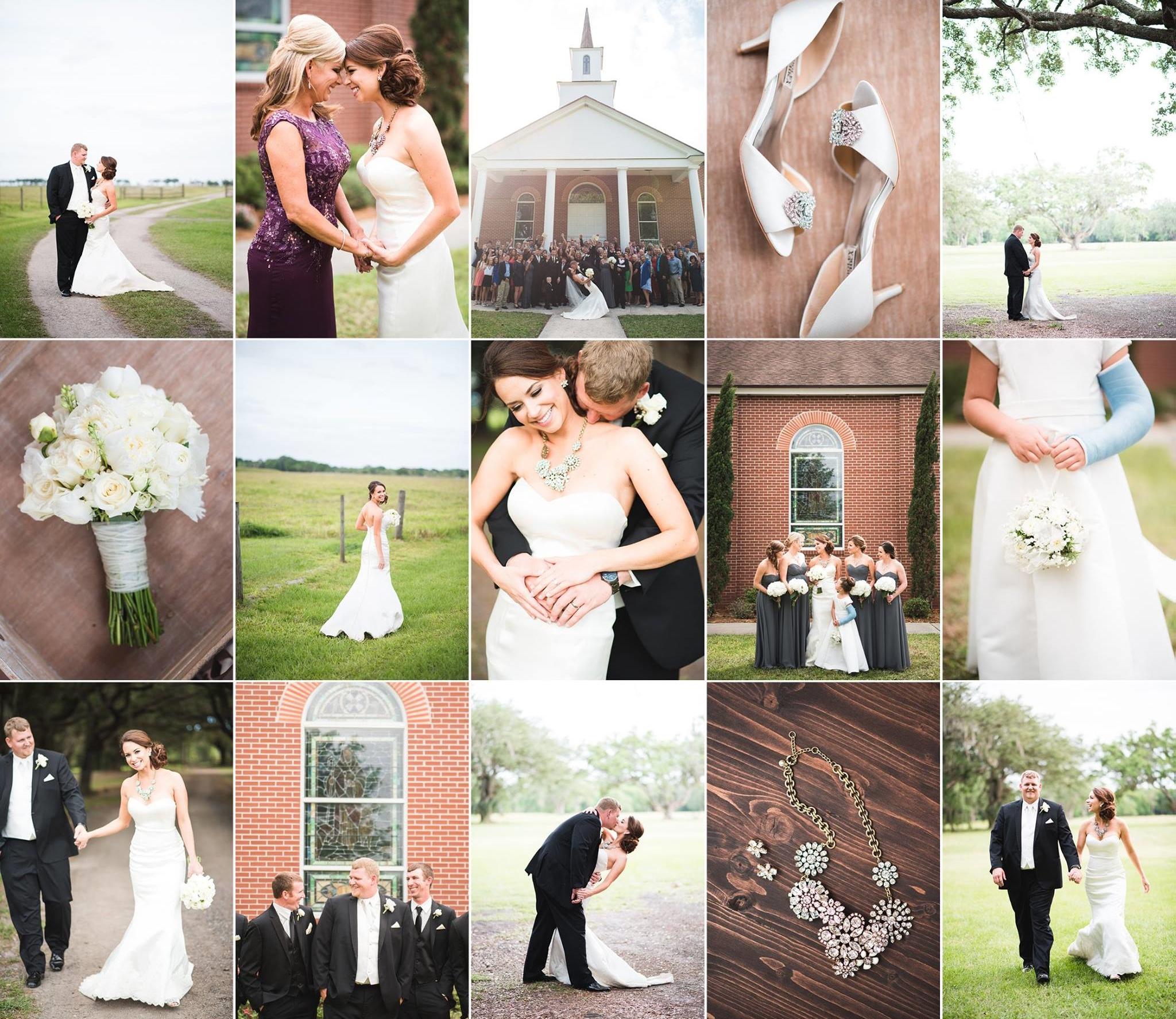 Kayla + Logan — Wauchula, FL Wedding Photography with Caroline Maxcy Photography
