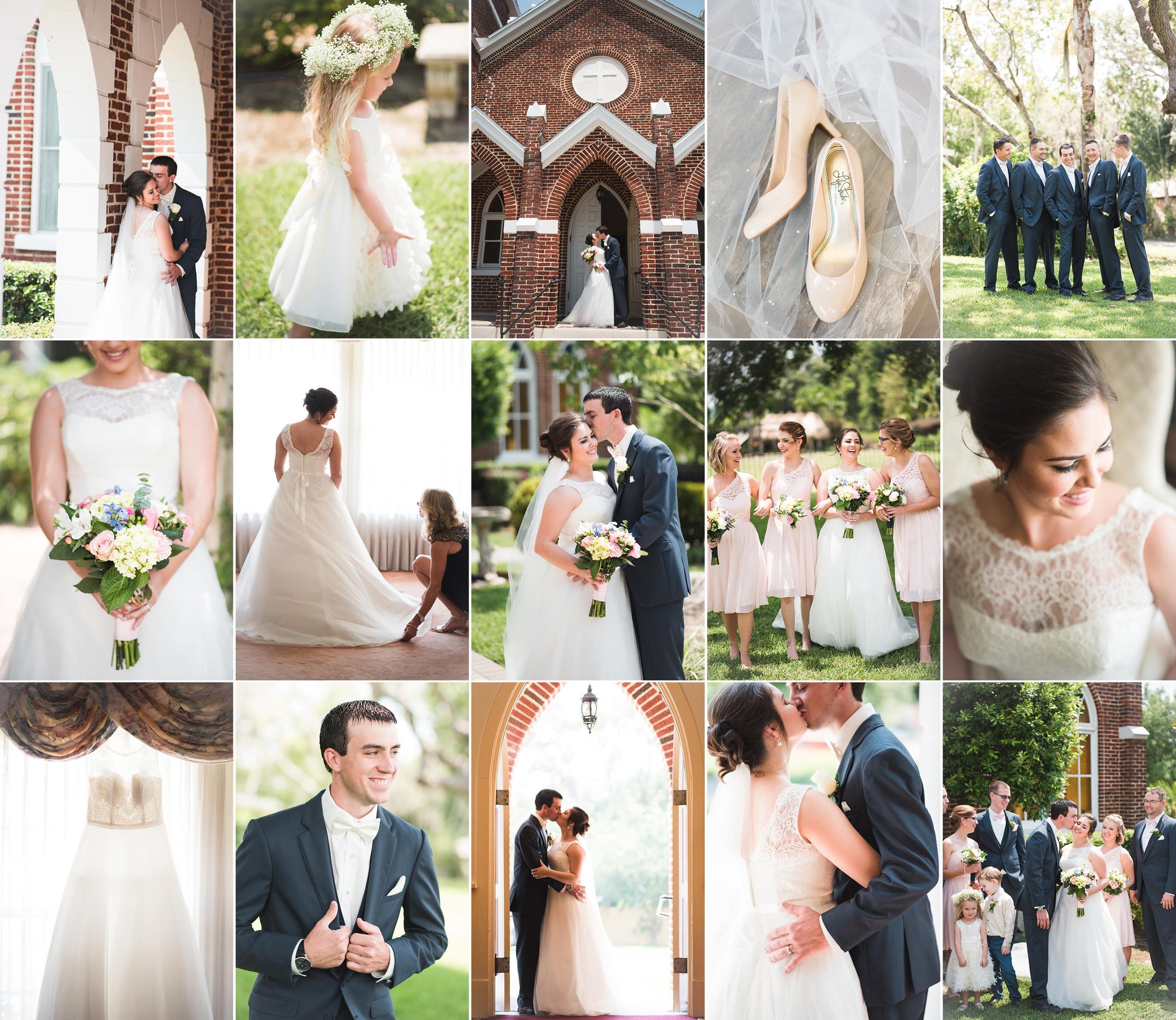 Brandy + Cannon - Lake Placid, FL Wedding Photography with Caroline Maxcy Photography.