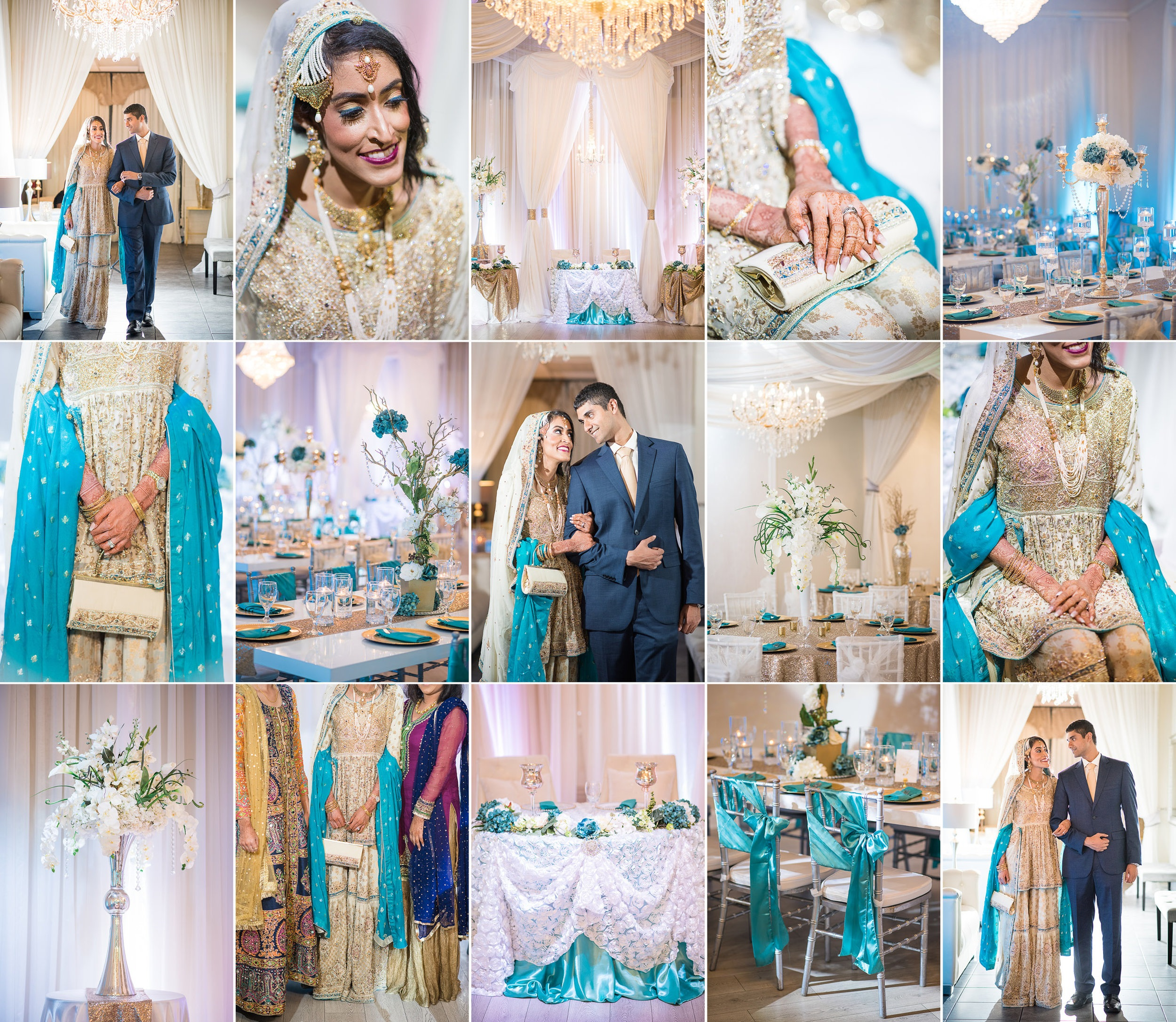 Orlando, FL Crystal Ballroom Wedding Photography with Caroline Maxcy Photography