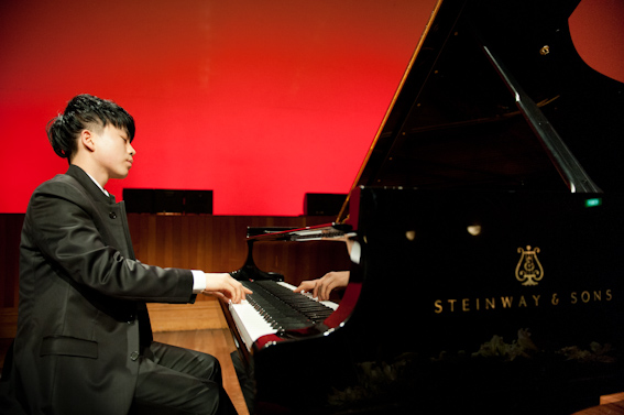 Jason Bae - Auckland Town Hall Concert Chamber Recital