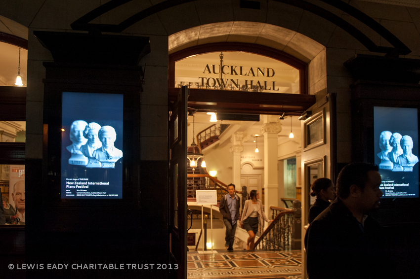 Auckland Town Hall Entrance