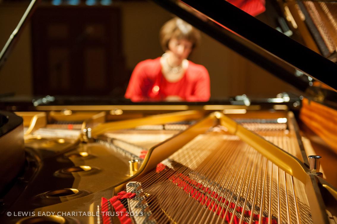 Konstanze Eickhorst - pre concert warm up