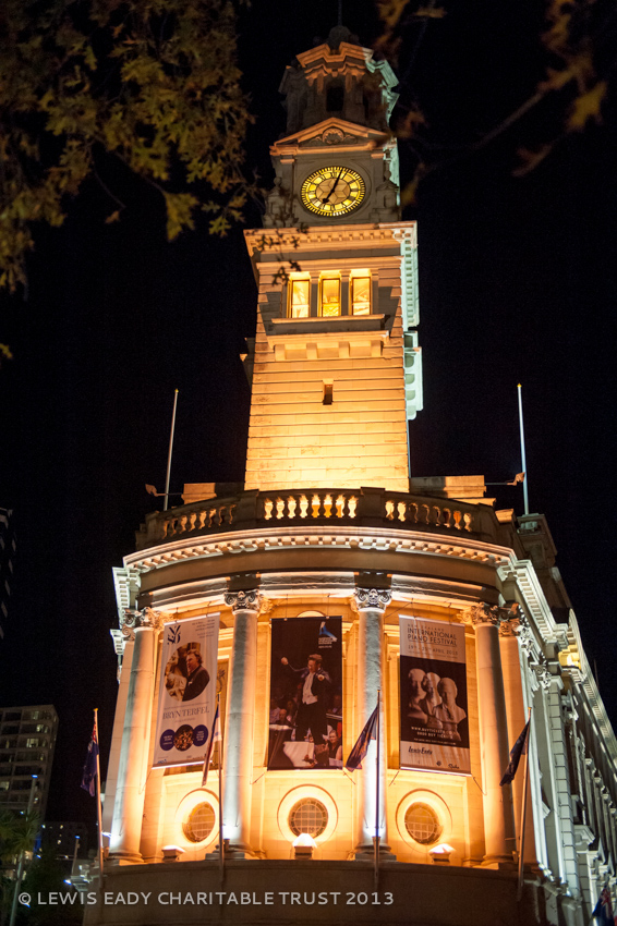Auckland Town Hall Banner