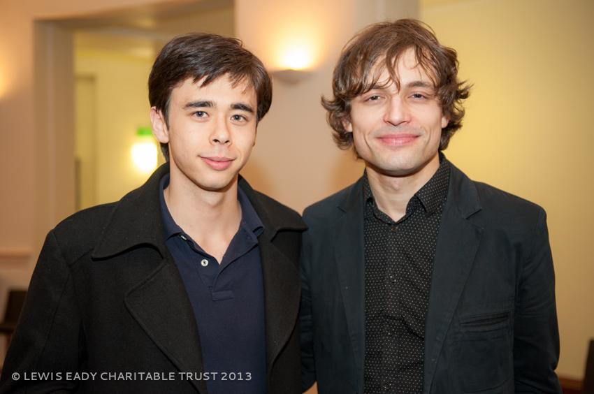 Ilya Rashkovskiy with Naoki Toyomura