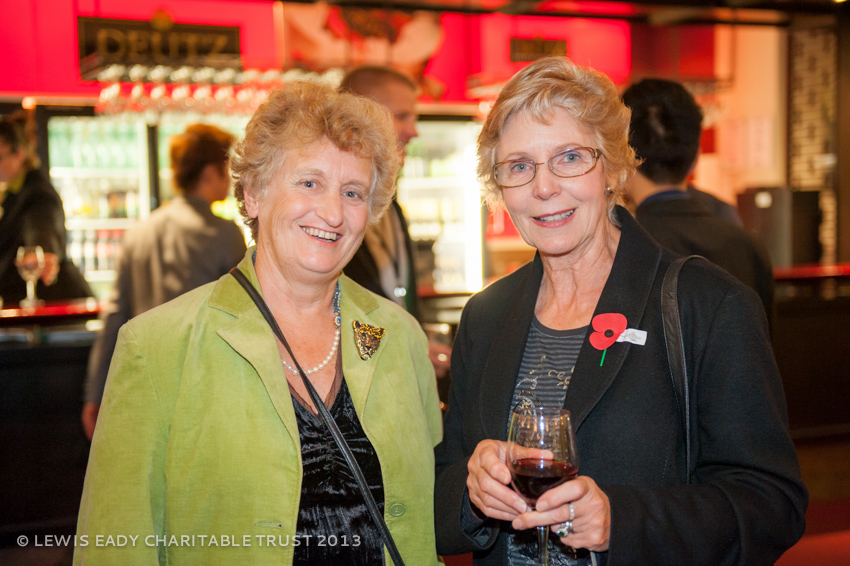 Catherine Syme with Kay Eady