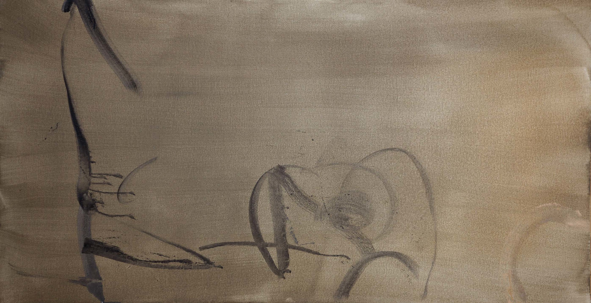 untitled , 1/14/2013  acrylic on canvas