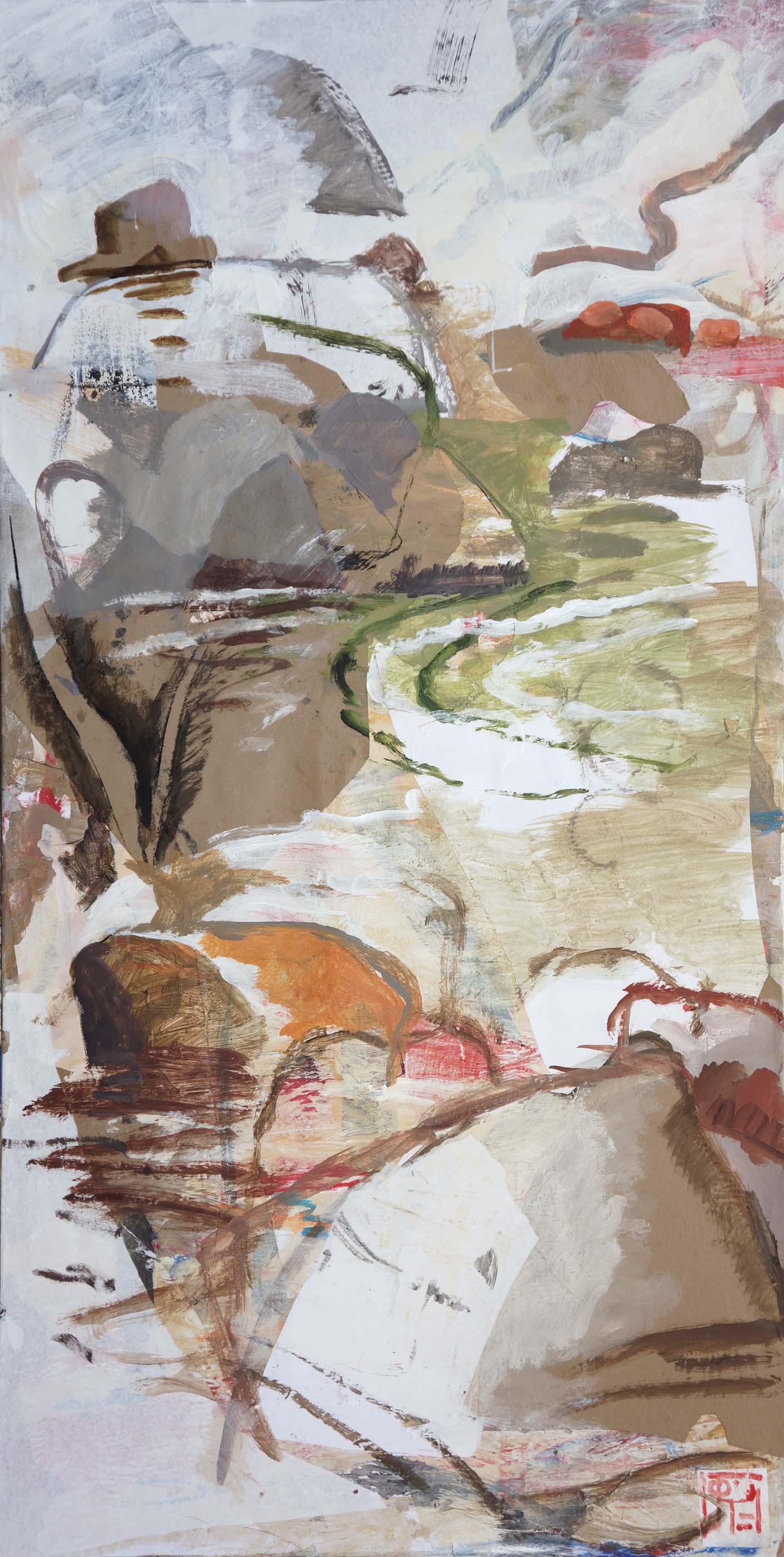 """rocky creek  72x38""""  PREVIOUS STATE 1/20/13"""