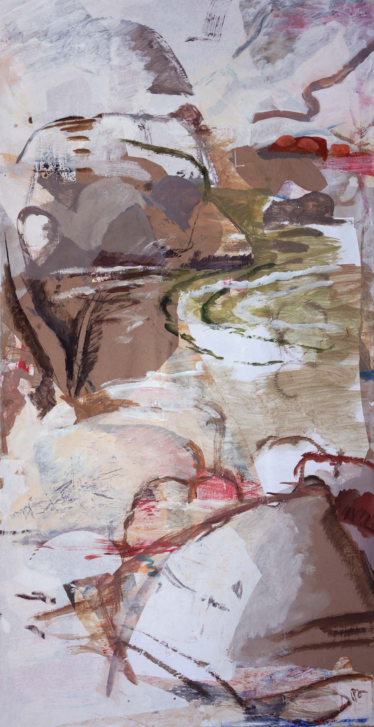 """rocky creek  72x38""""  AFTER REVISION 2/16/13"""