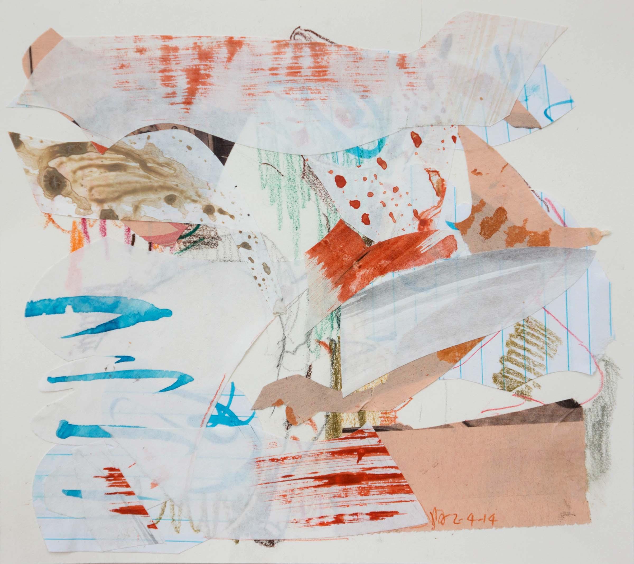 2-4-14 collage 2  19x21 cm