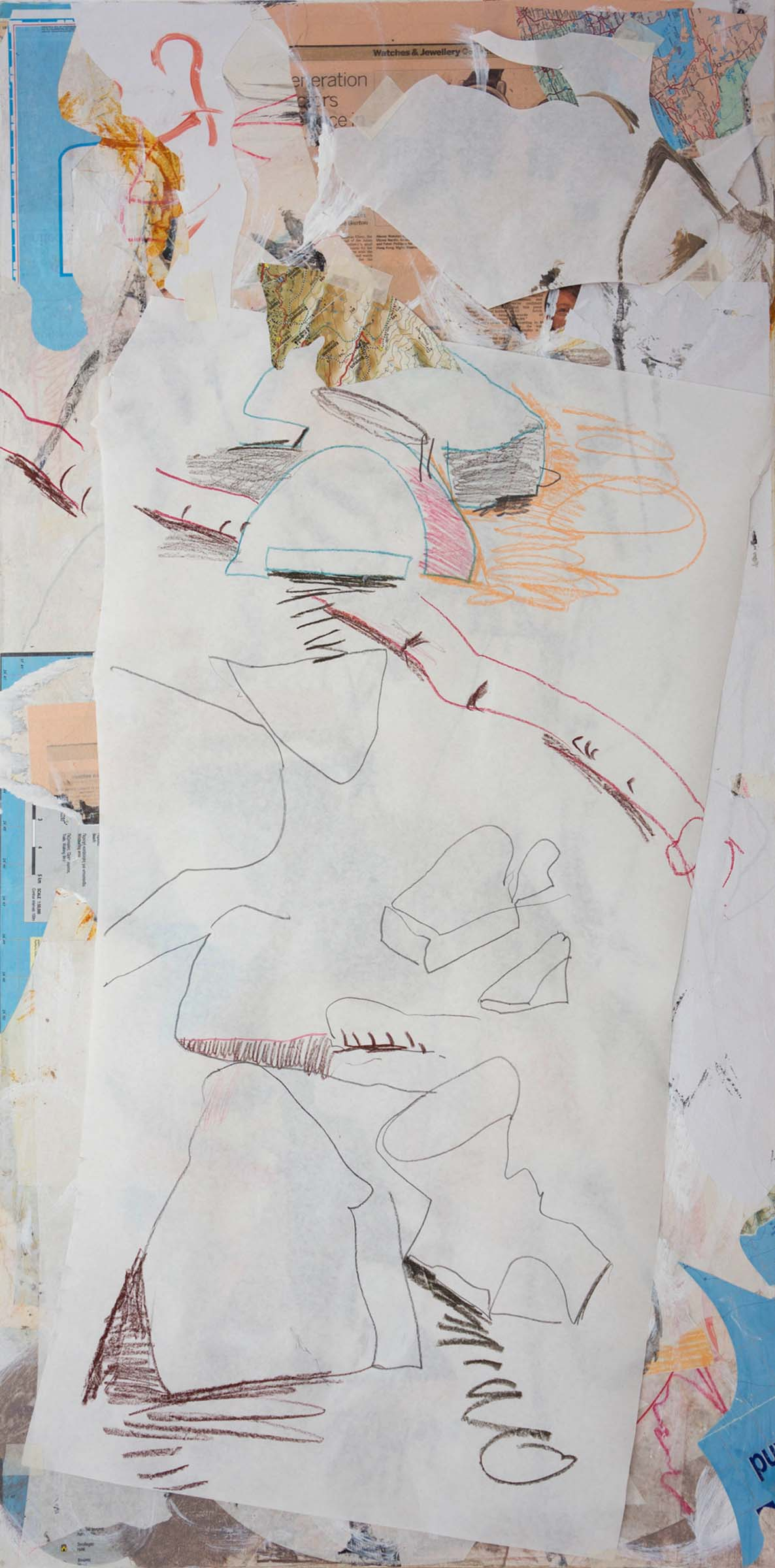 site-4-18-14 Apothikes with paper 48x24 in  1.22x61 cm.jpg