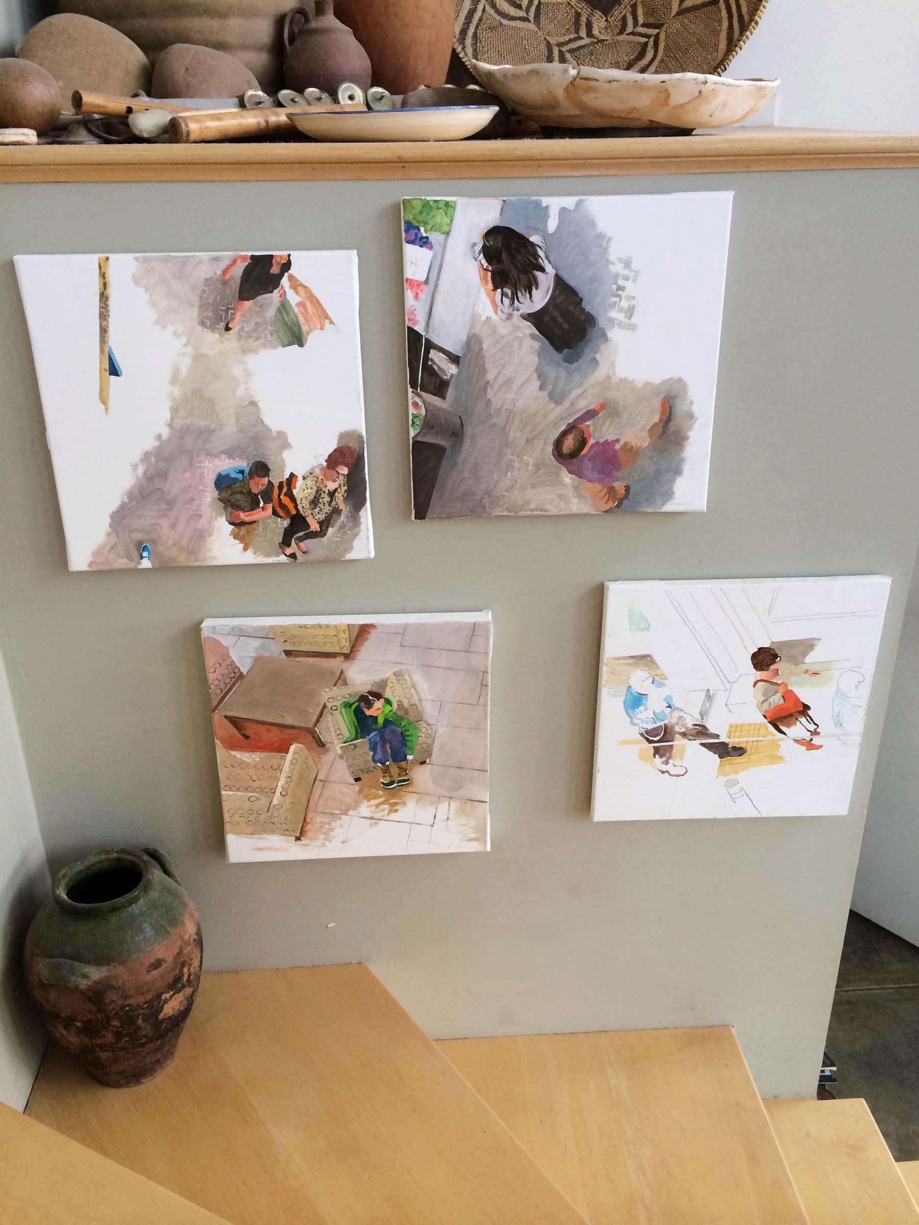 site-11-20-14 paintings on stairs 2.jpg
