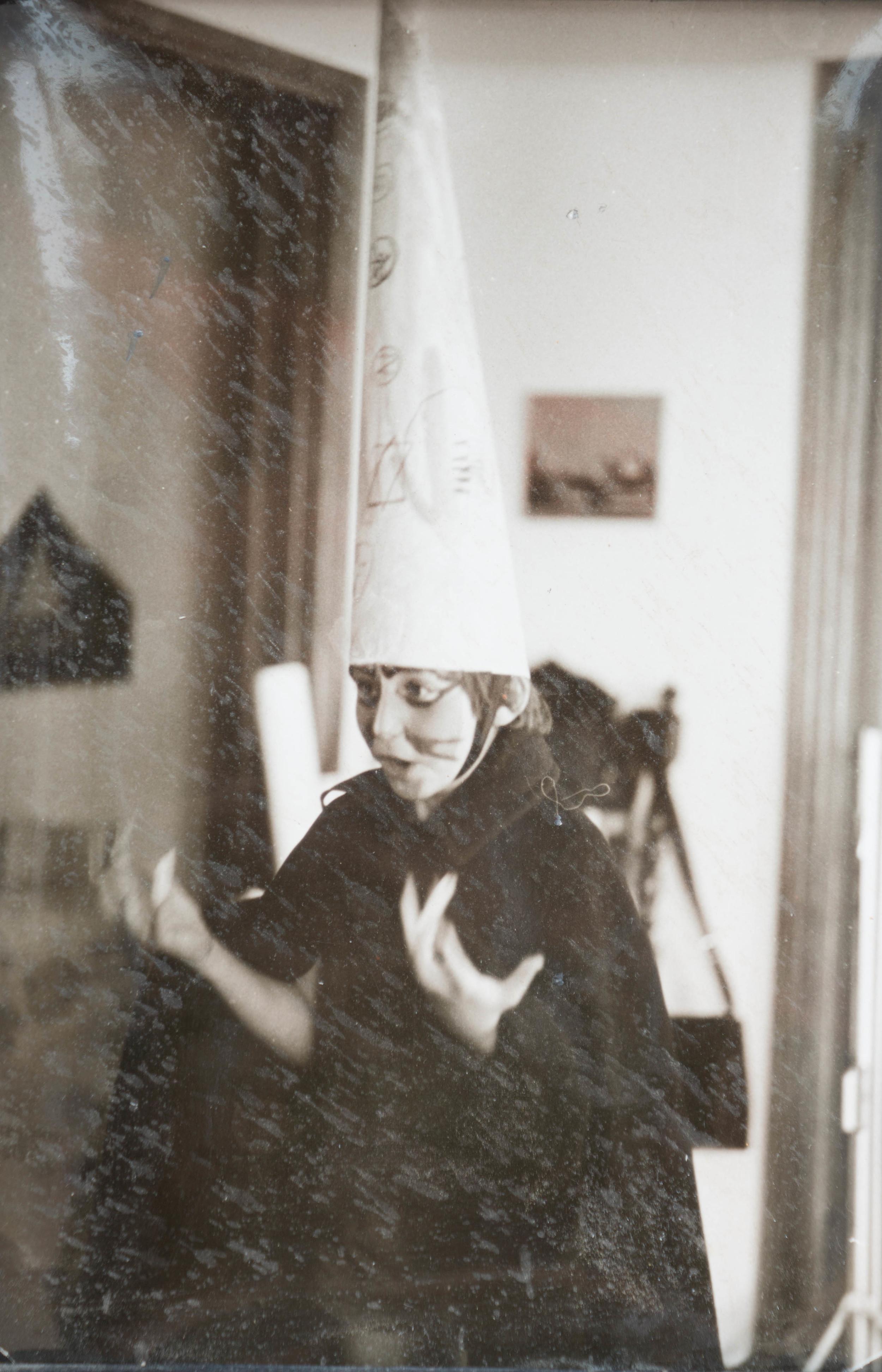 dimitri as a kid, acting at home
