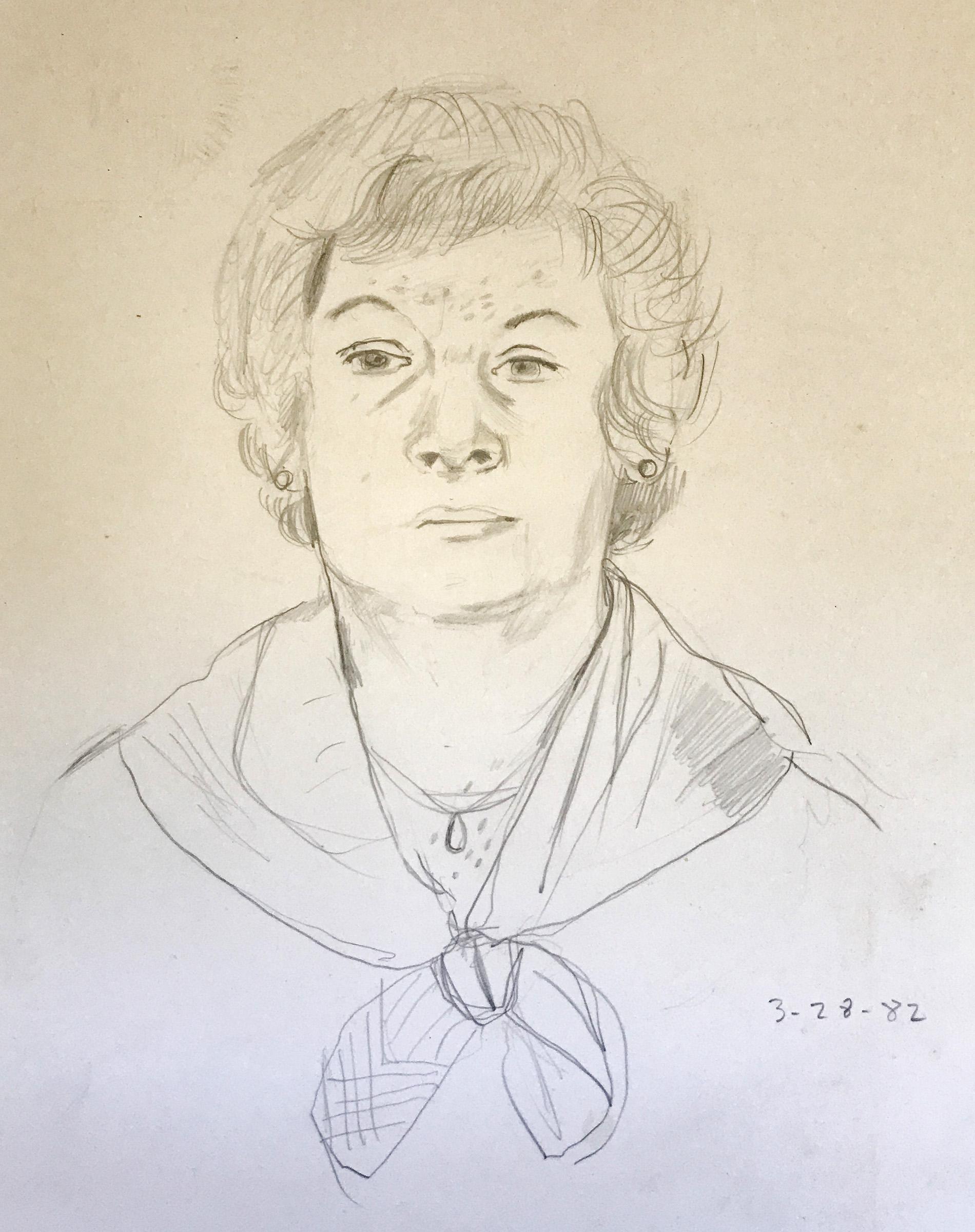 my mom in 1982