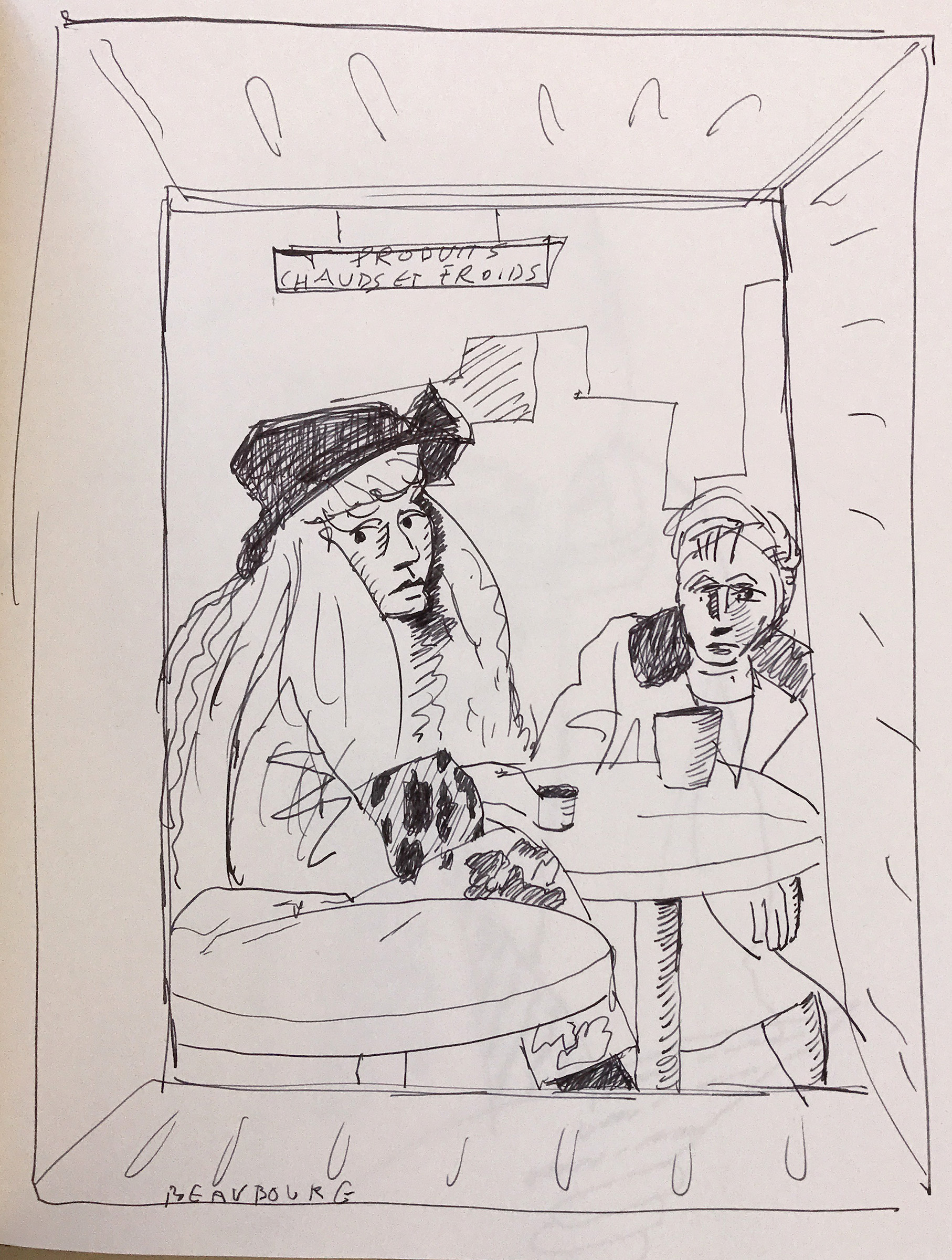 Beauborg drawing