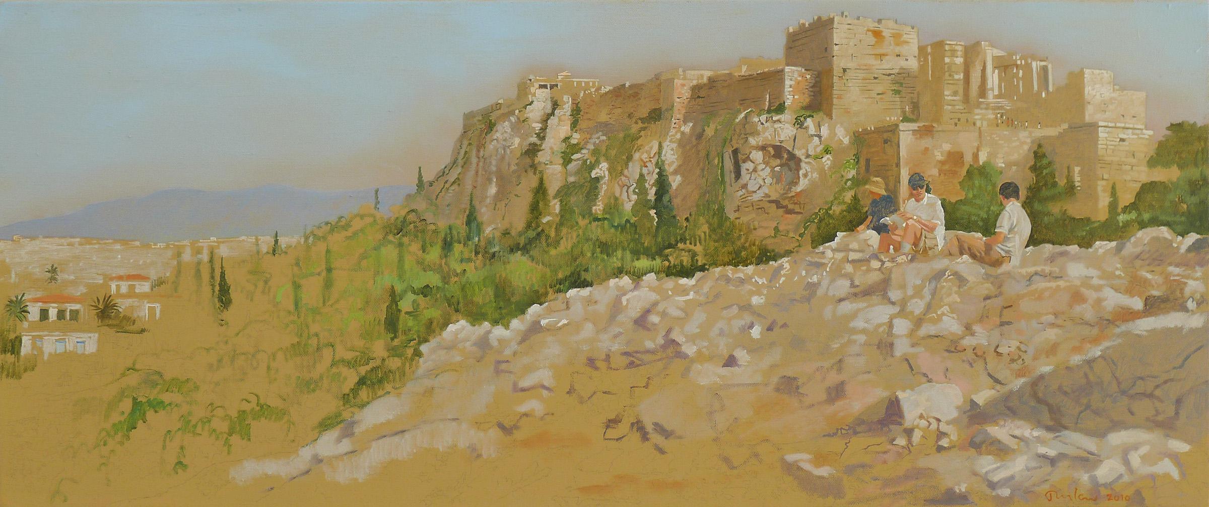 December Morning, Acropolis 35x72%22 oil on linen copy copy.jpg