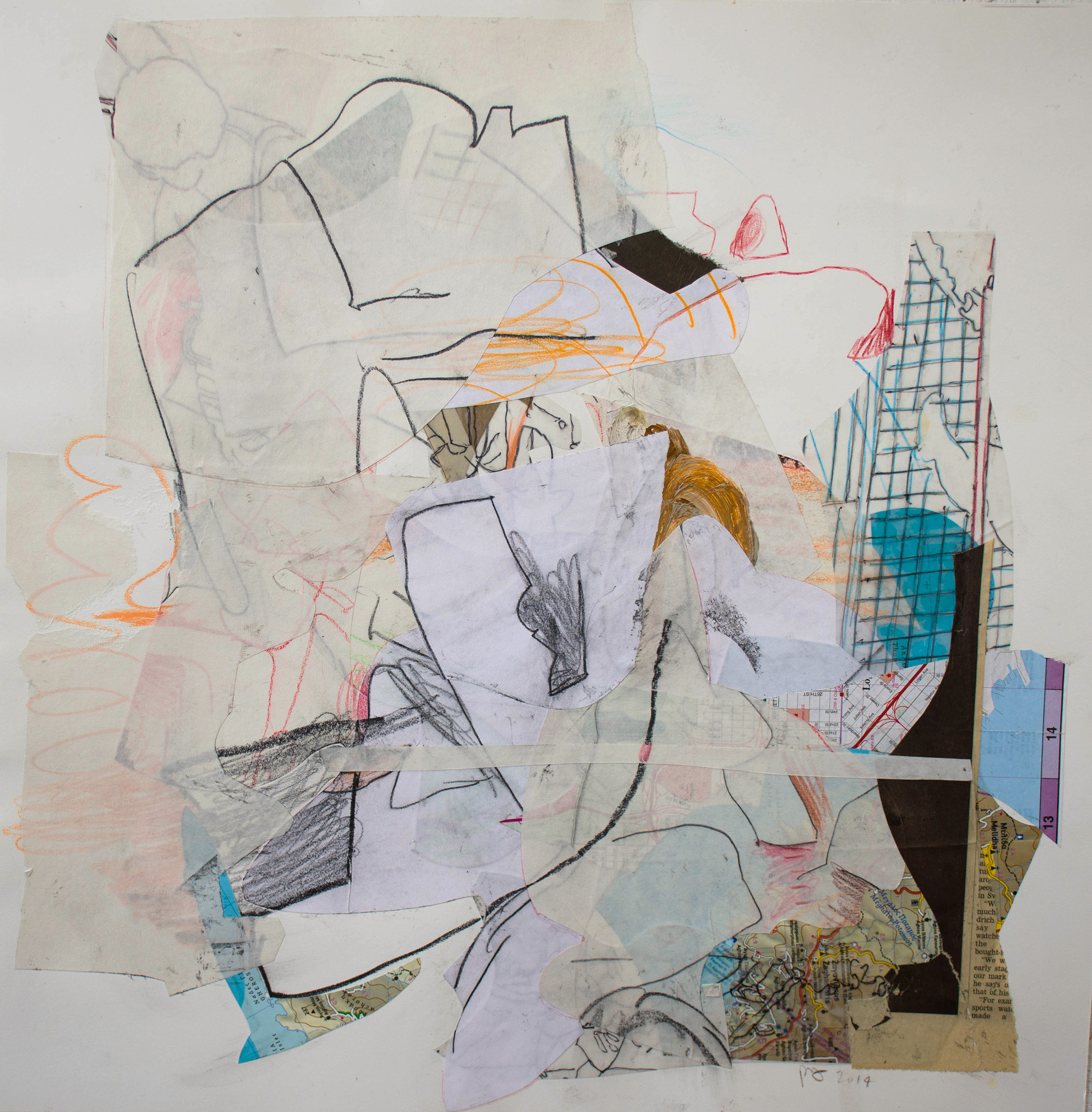"""collage #7 , 2014, 16x16"""""""