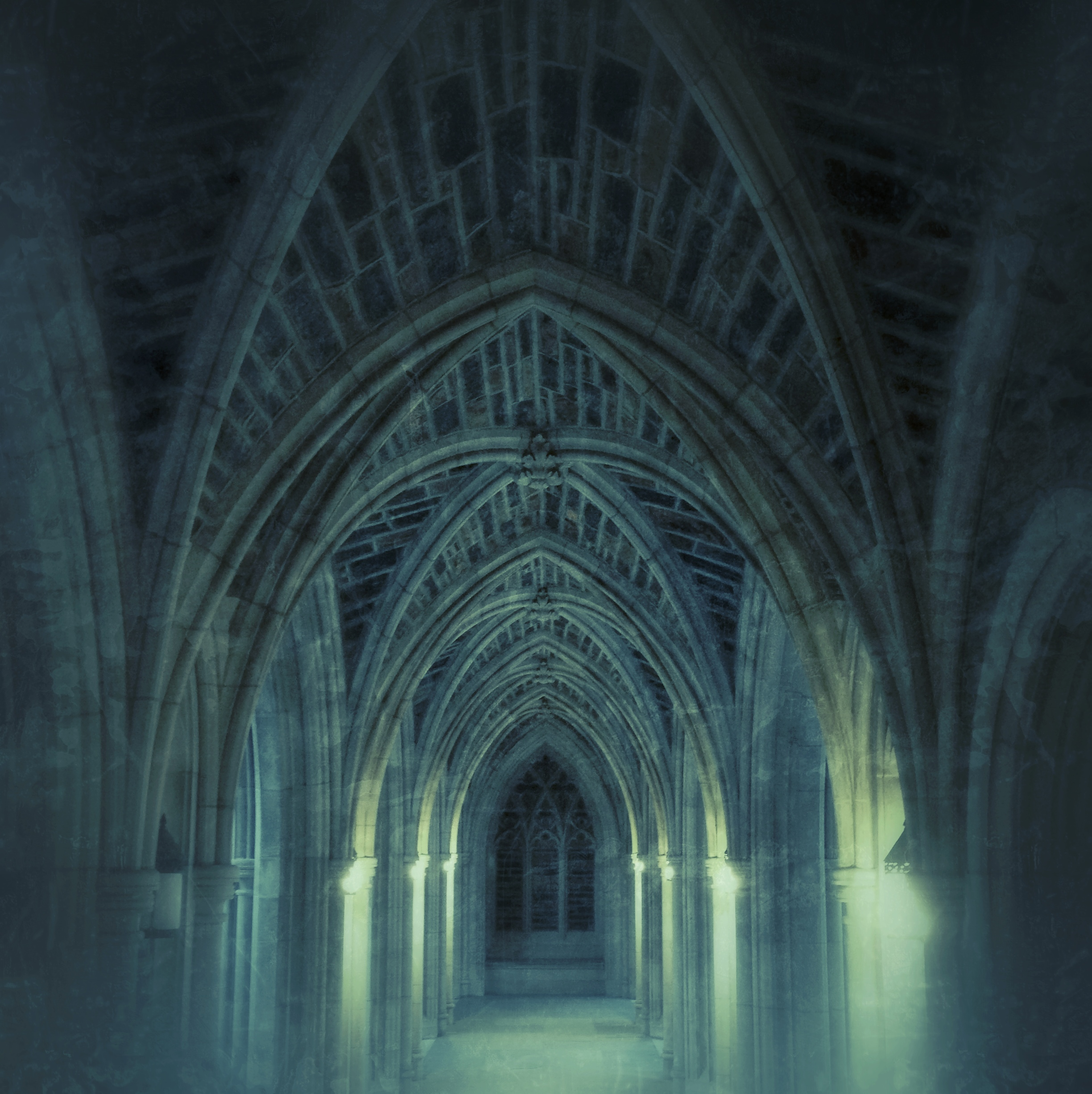 Cloister Walk, Duke University Chapel