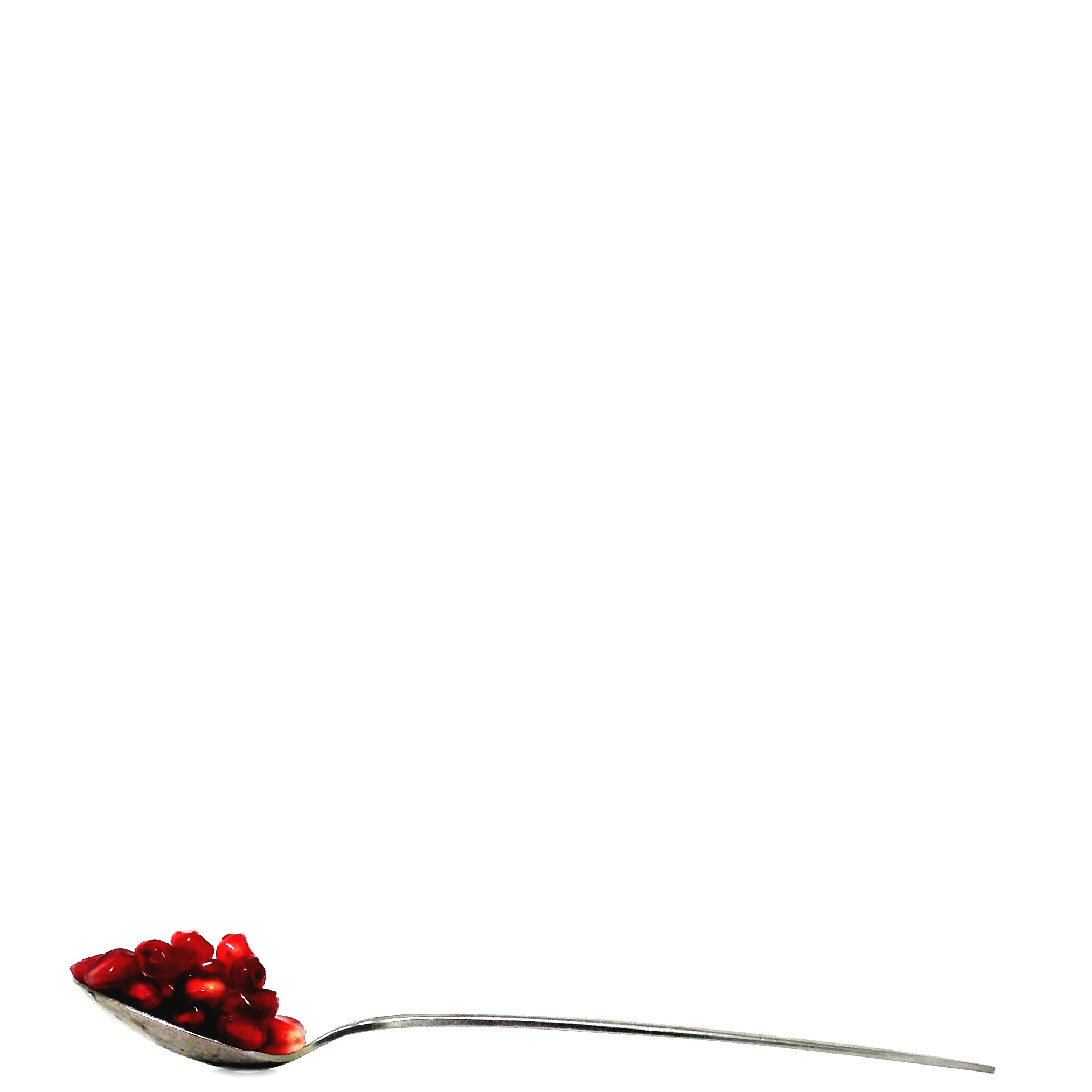 Pomegranate on a Spoon