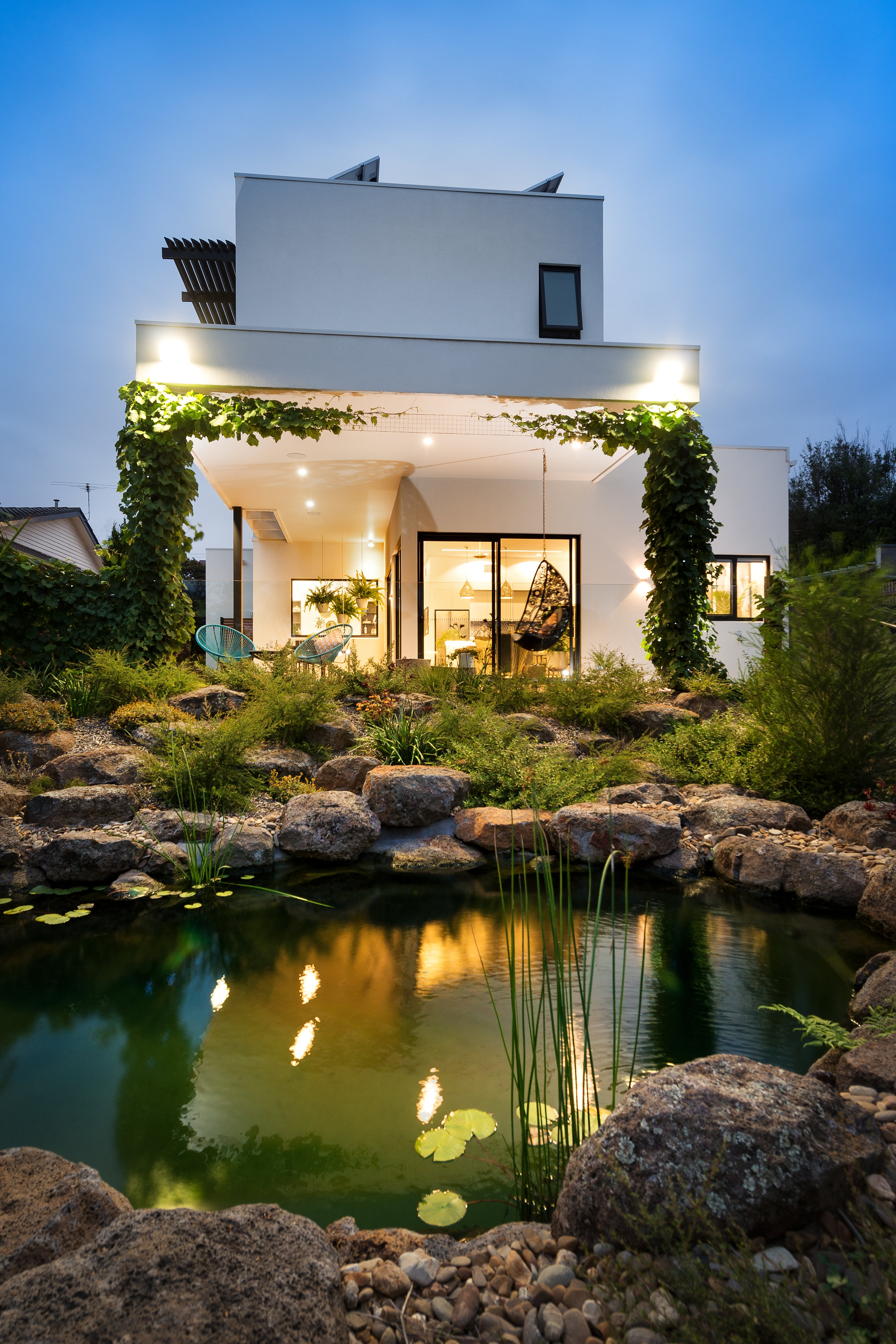 Copy of White Pebble Interiors - Lighting Design by MINT