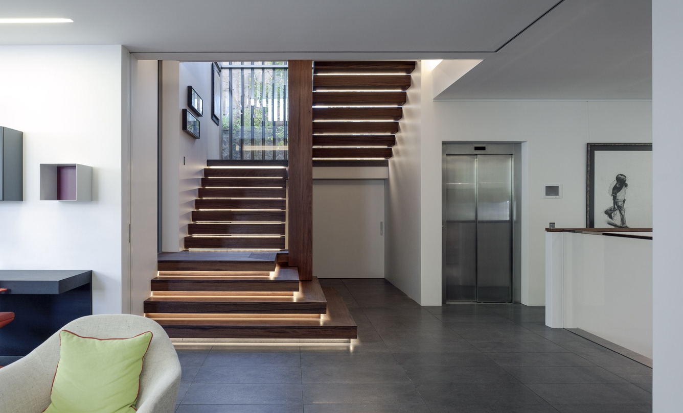 Picture of: Creative Ways To Light Your Stairs Mint Lighting Design Professional Lighting Consultants