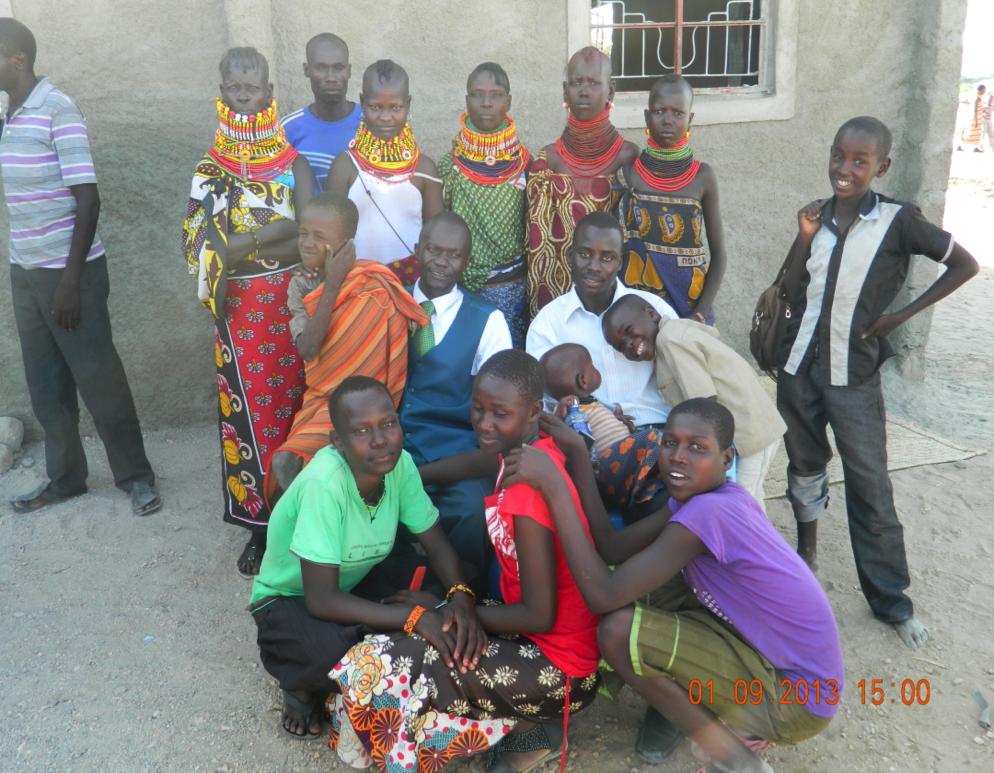 Church Members from the CRIO church in Turkana, Kenya