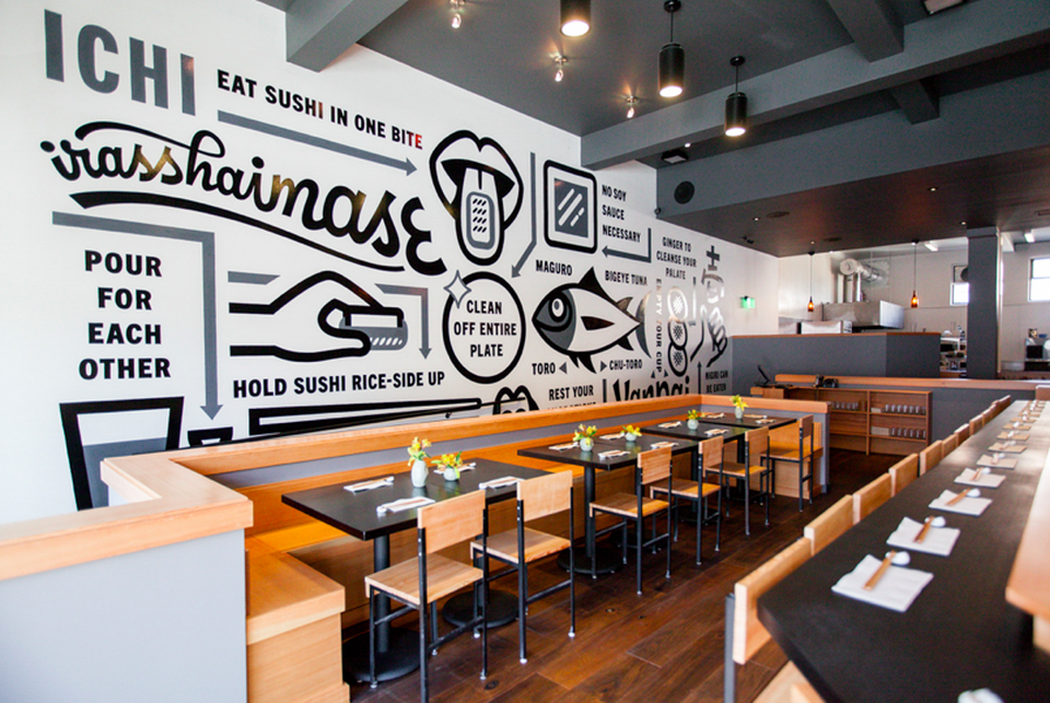 Foursquare — The Hottest Sushi Restaurants in the US