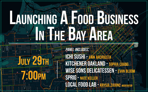 Erin appears on panel for Launching a Food Business in the Bay Area
