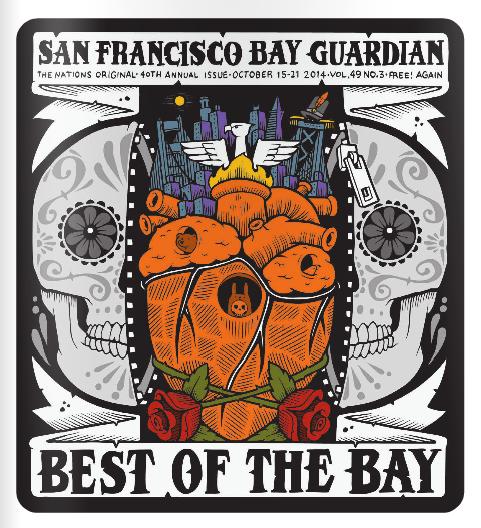 San Francisco Bay Guardian  final issue—Best Sushi Reader's Choice Poll Winner