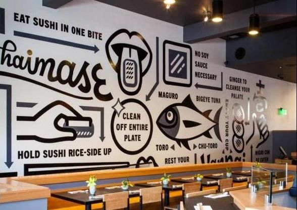 WhereTraveler  —  Trend: Beautiful Murals in San Francisco Restaurants