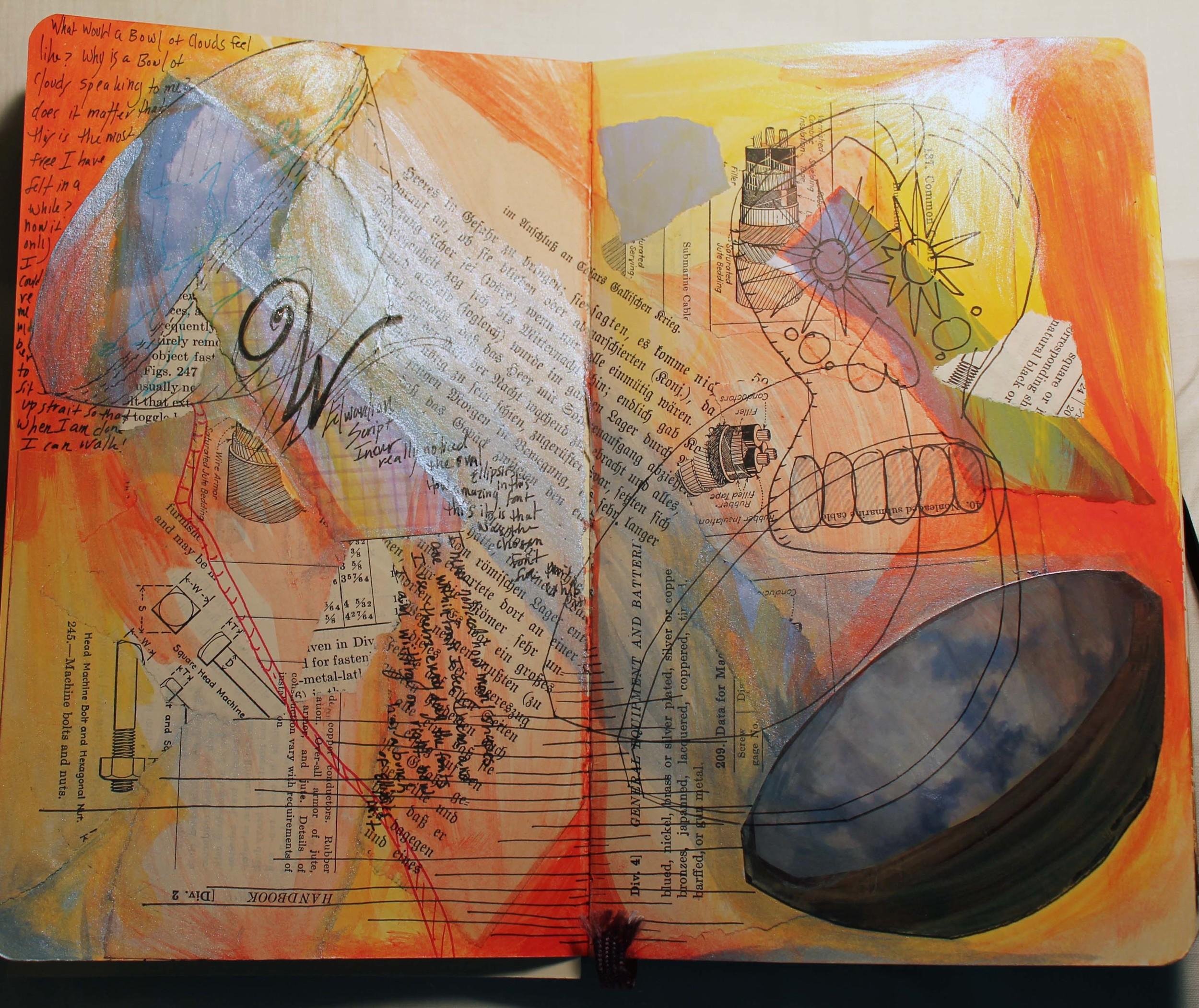 Mixed-Media Sketchbook