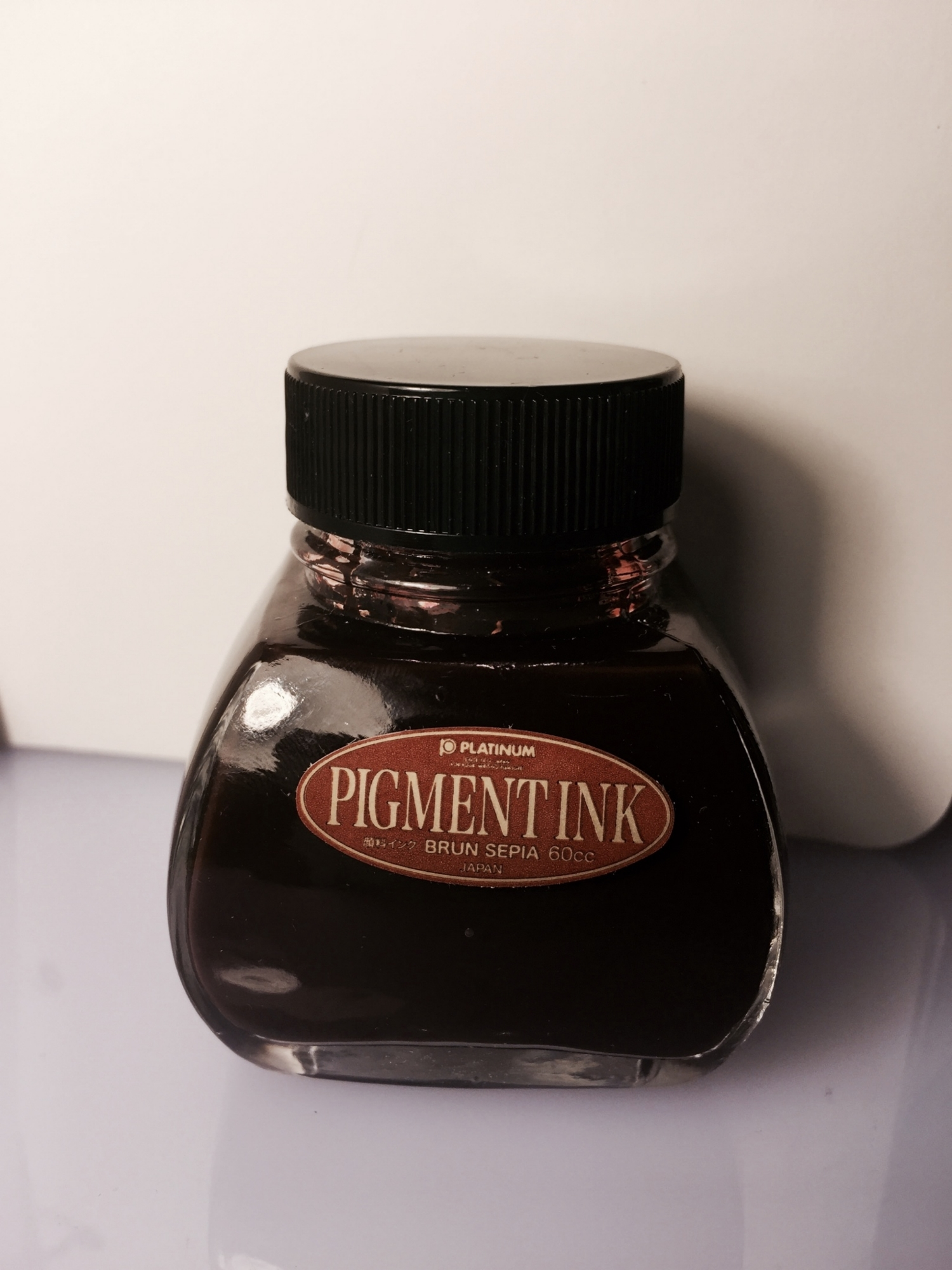 A bottle of Sepia Ink