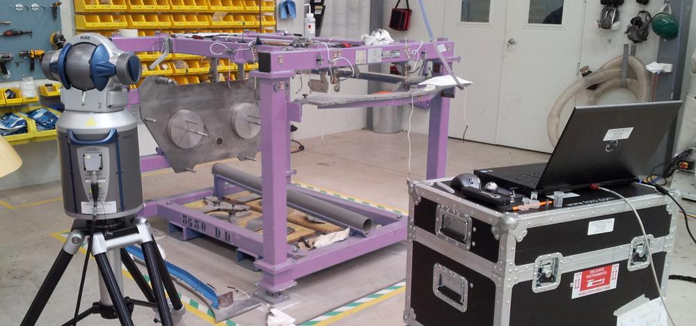 Aerospace fixture calibration using a 3D Laser Tracker