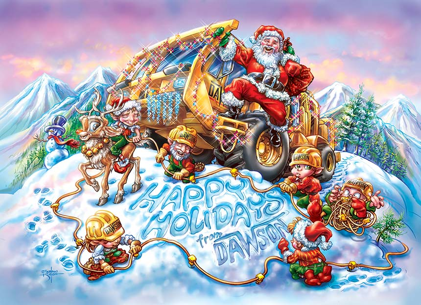 The North Pole Crew Client:  Dawson Geophysical  via MindsEye! Advertising   Medium:  Digital