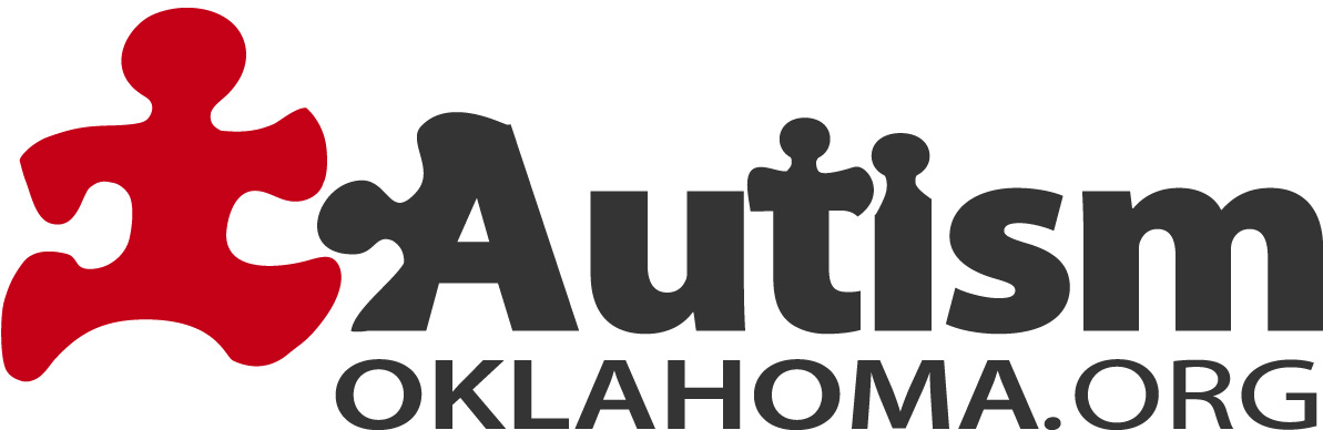 AutismOklahoma.org Logo  The puzzle piece is a unique visual element in autism advocacy, and so Dash, Autism Oklahoma's mascot, integrates with the logo. Supplemental logos were required too, for each Chapter of the organization.   Client: AutismOklahoma.org  Medium: Digital (Vector Art, Adobe Illustrator)