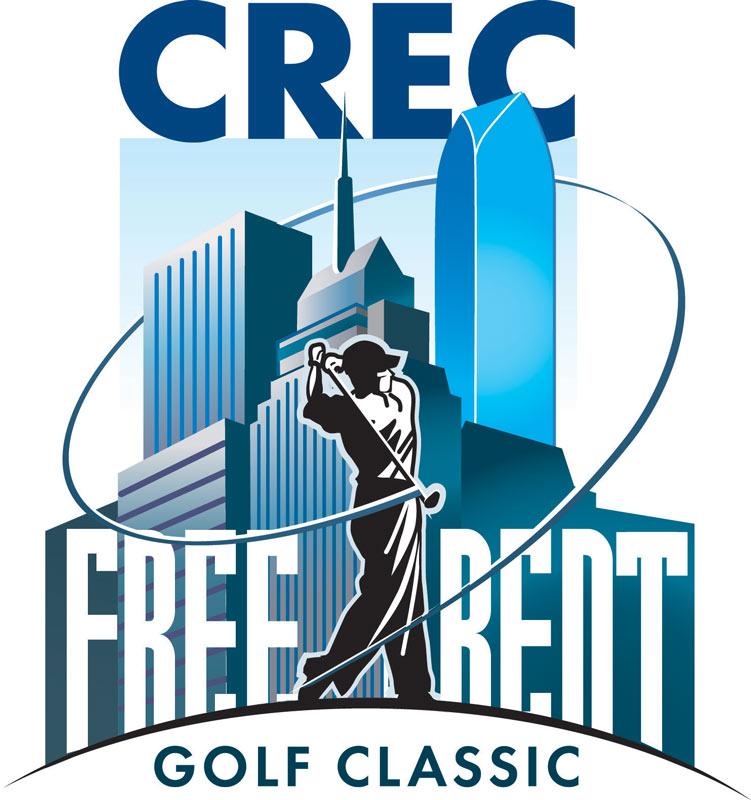 Free Rent Golf Classic  Icon  Oklahoma City Commercial Realtors Golf Tournament    Client:  CREC (Commercial Realtors)  via Mindseye Advertising   Medium:   Vector Art (Adobe Illustrator)