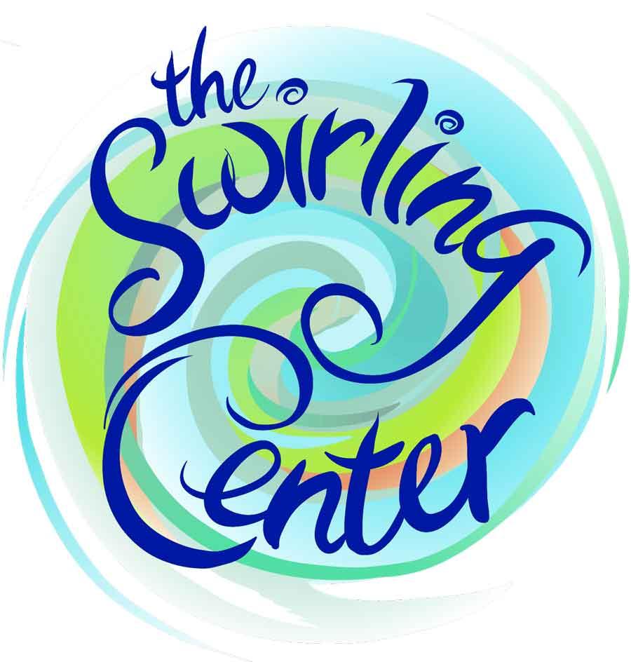 The Swirling Center Logo  Vector version of book cover design  Client:  The Center for Baptist Heritage & Studies  Medium: Digital (Vector Art, Adobe Illustrator)