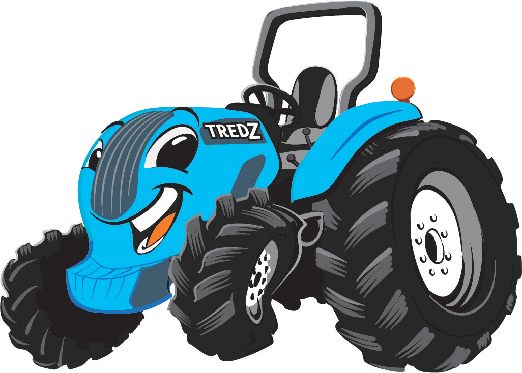 Tredz  Final Character Design for Colorado-based Legacy Tractor Dealership