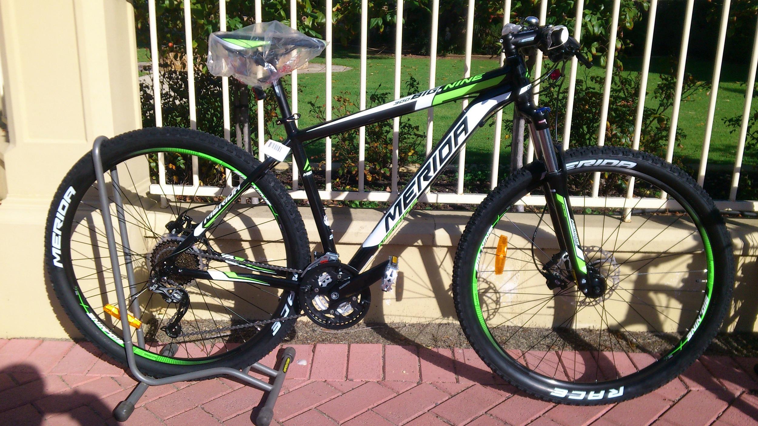 Merida big nine 300 2014  In team green