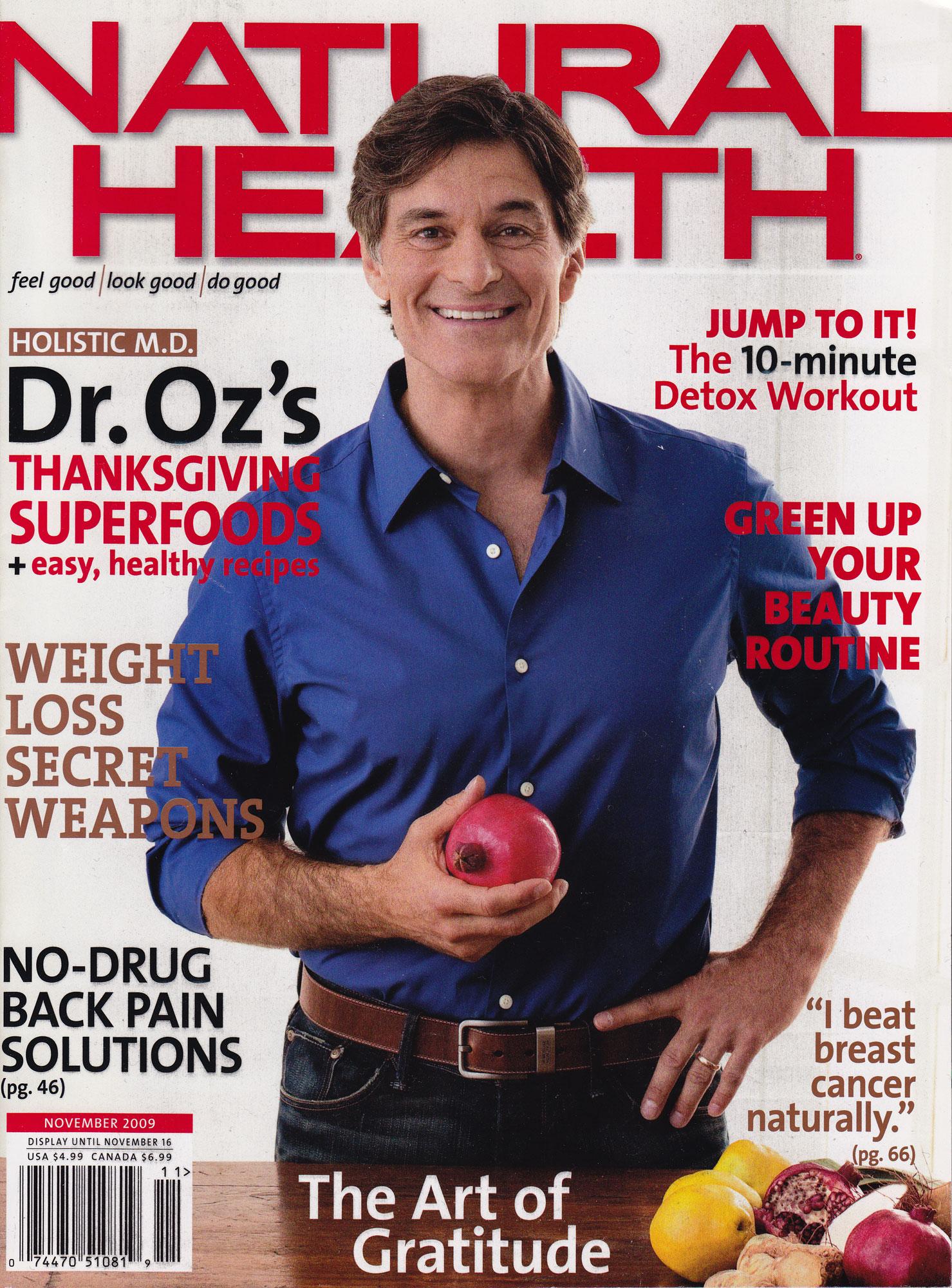Dr Oz Beats Cancer