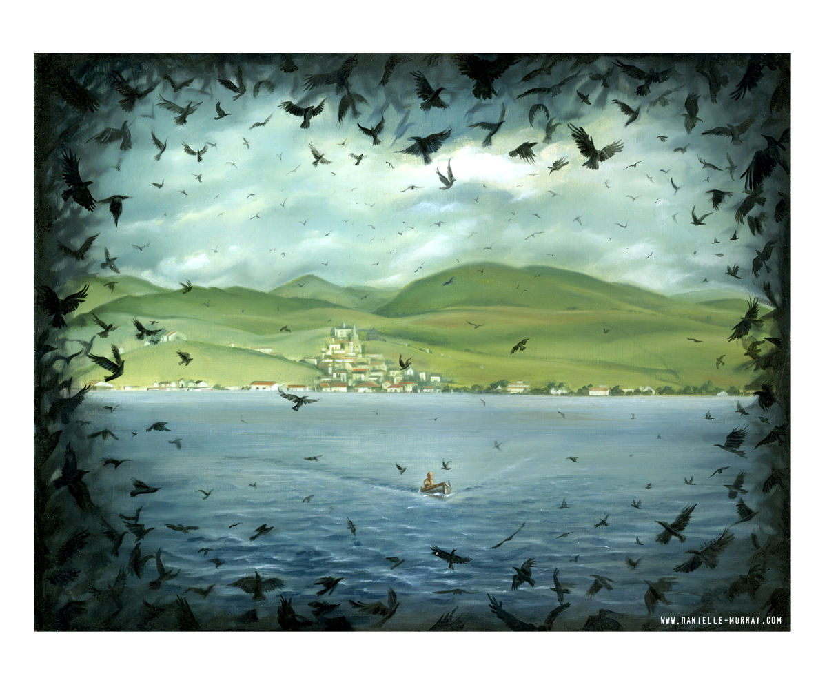 Danielle Murray, Bodega Bay, Gallery 1988