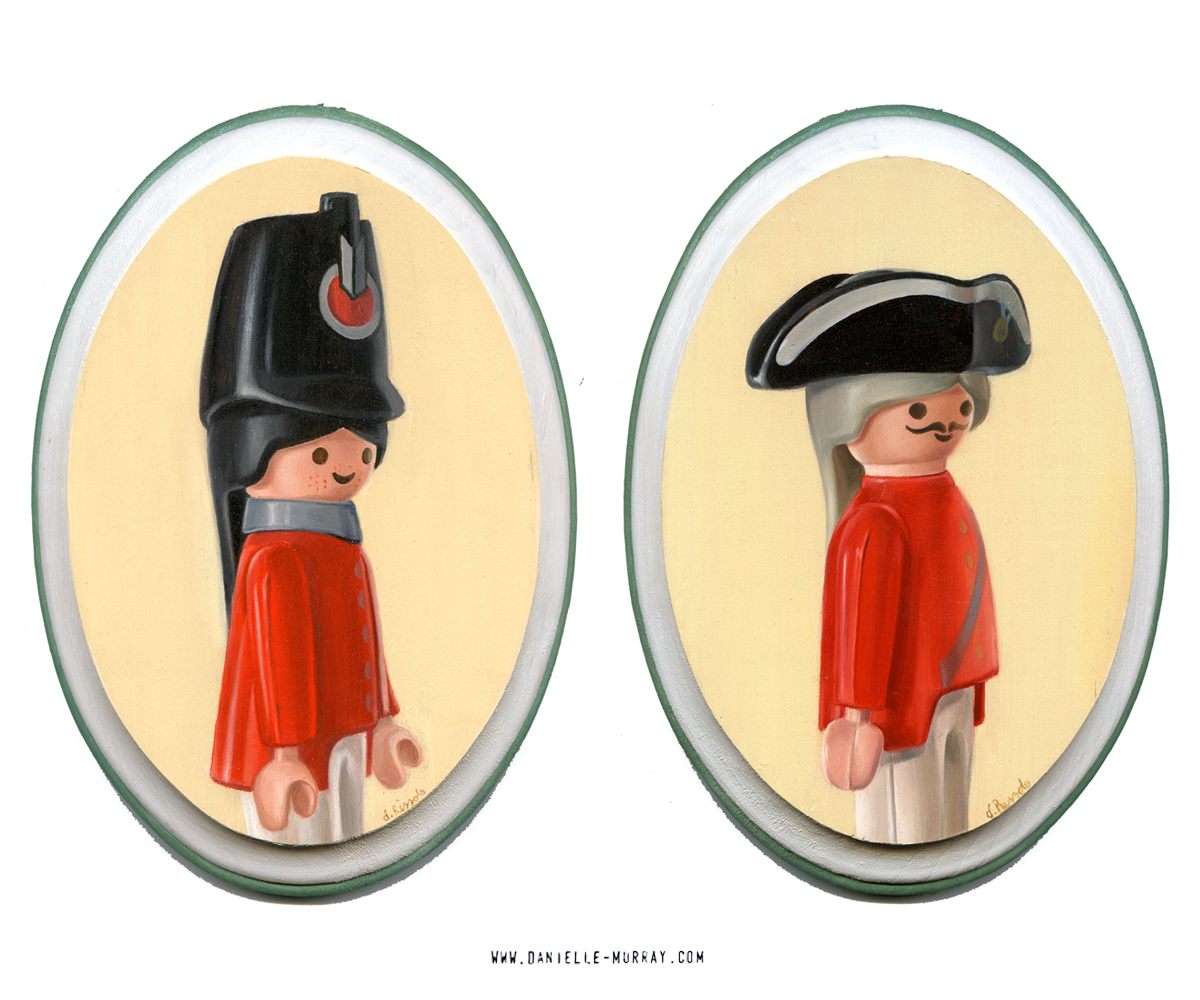 Danielle Murray, HMS Playmobil, Gallery1988